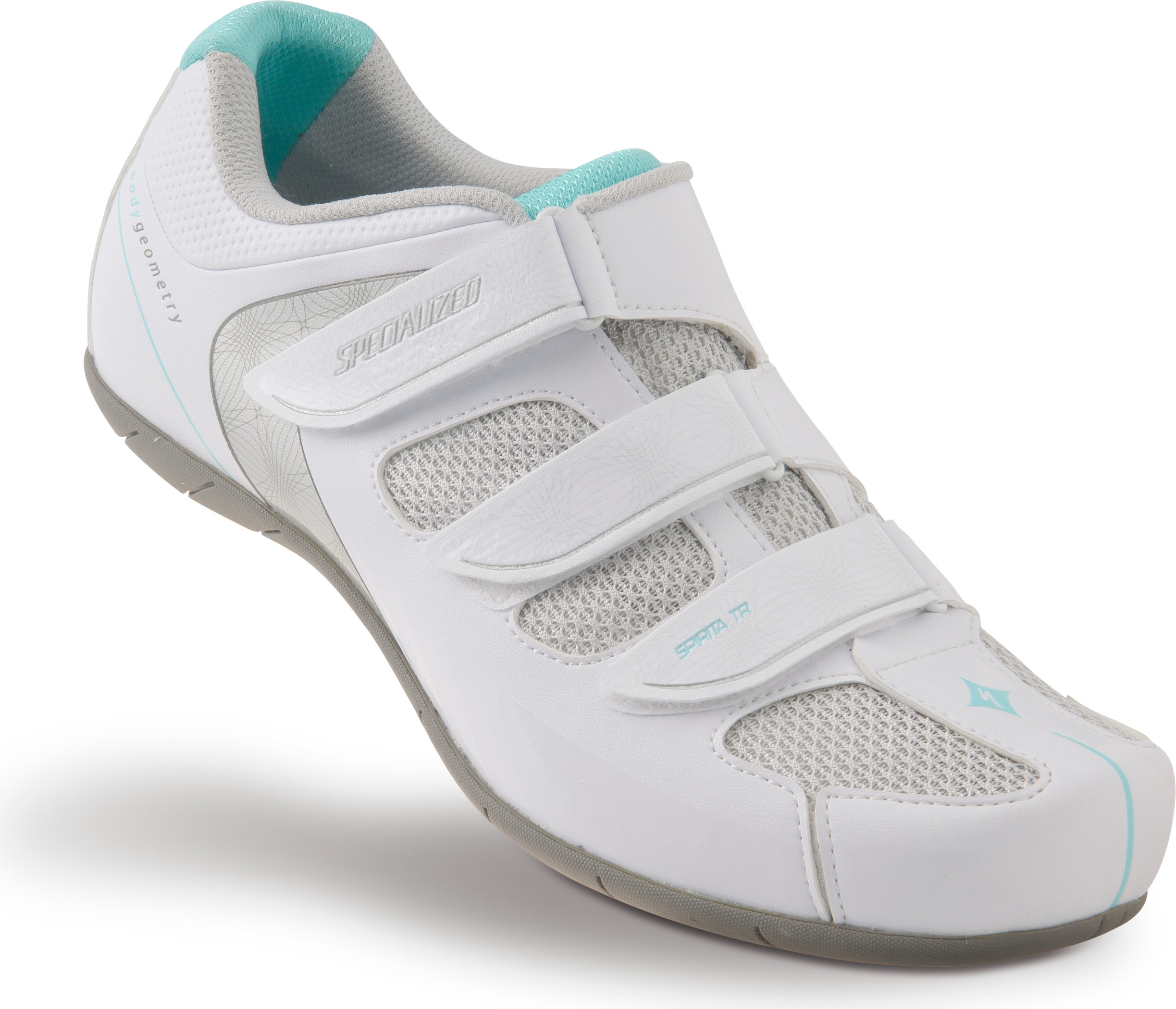 SPECIALIZED SPIRITA RBX SHOE WMN WHT/TEAL 36/5.75 - Bikedreams & Dustbikes