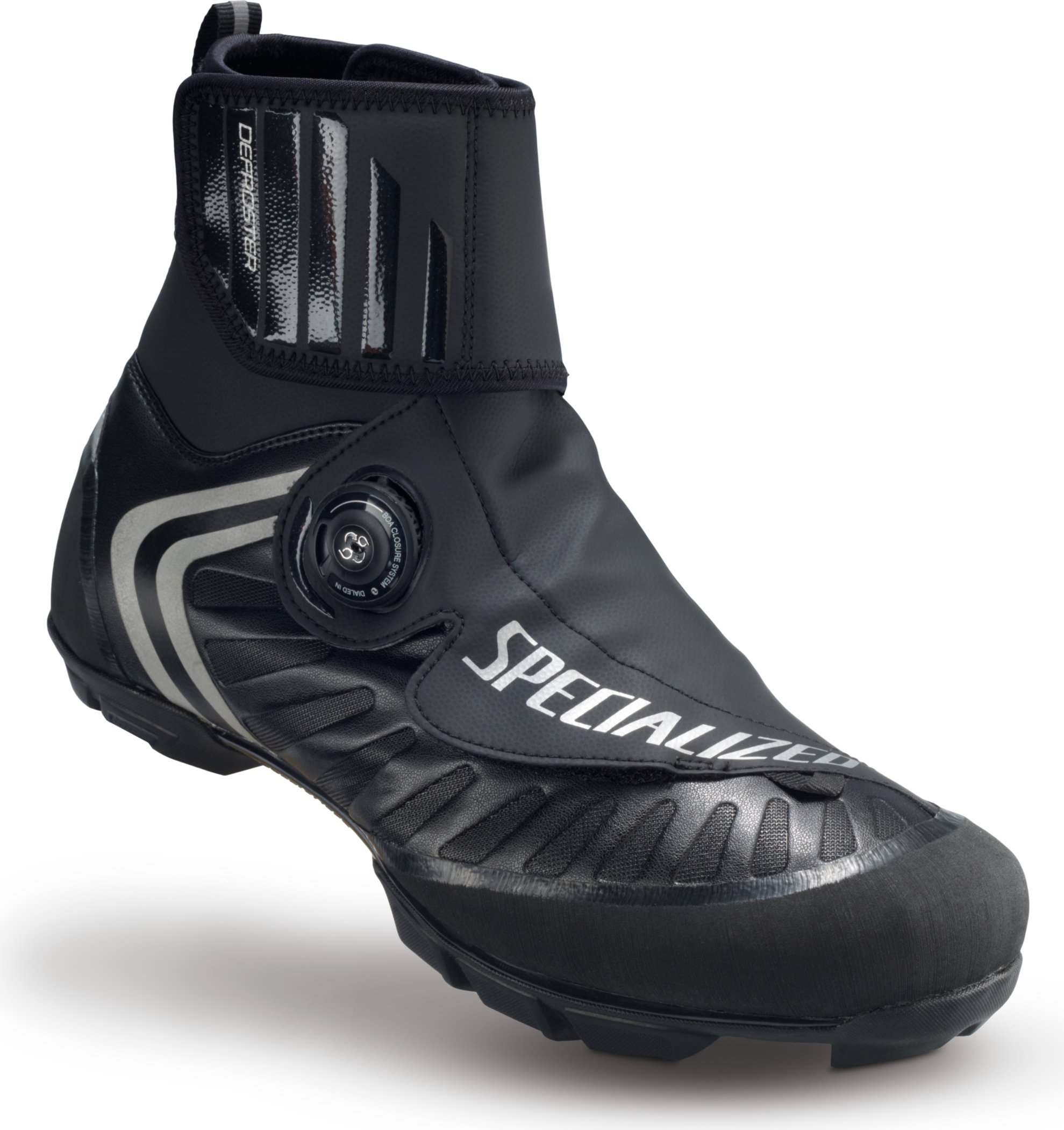 SPECIALIZED DEFROSTER TRAIL MTB SHOE BLK 46/12.25 - Alpha Bikes