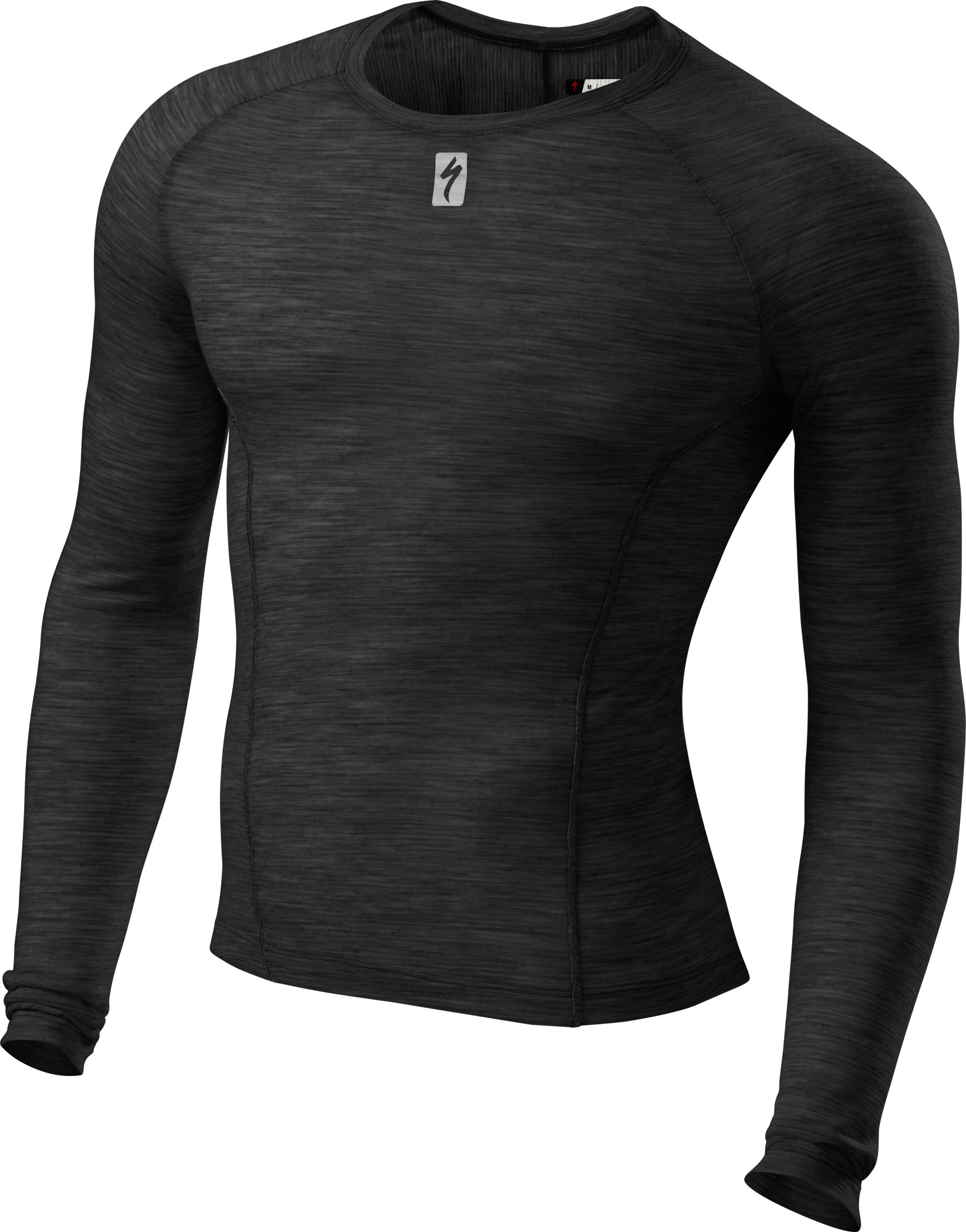 Specialized Merino Long Sleeve Tech Layer Black Large - Alpha Bikes