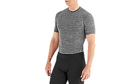 SEAMLESS BASELAYER SS HTHR GRY