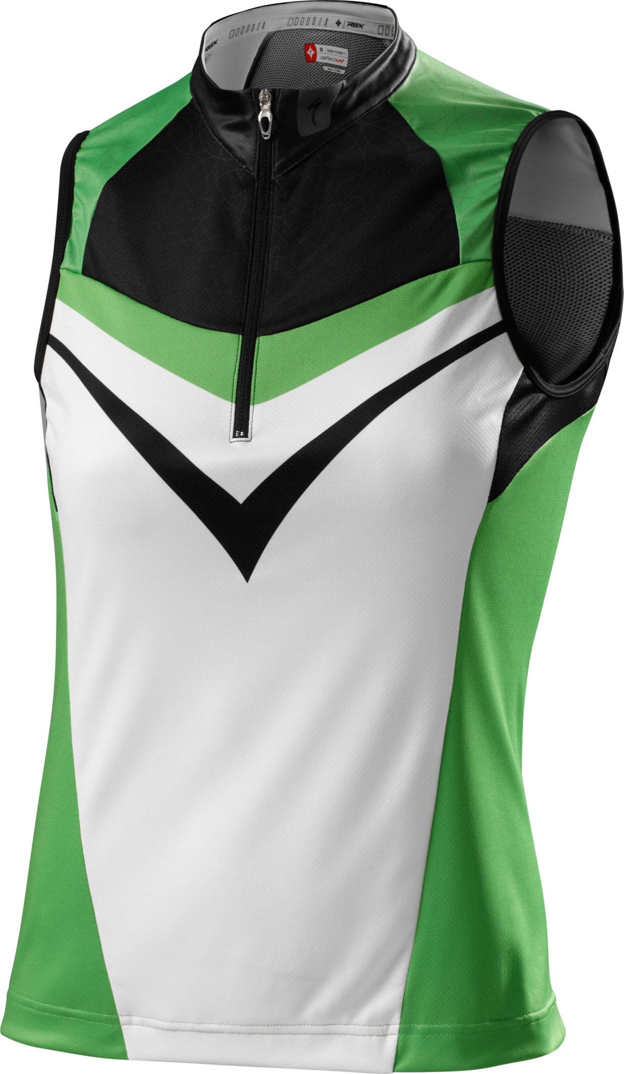 Specialized RBX Comp Trikot ohne Arm Black/Moto Green Medium - Alpha Bikes