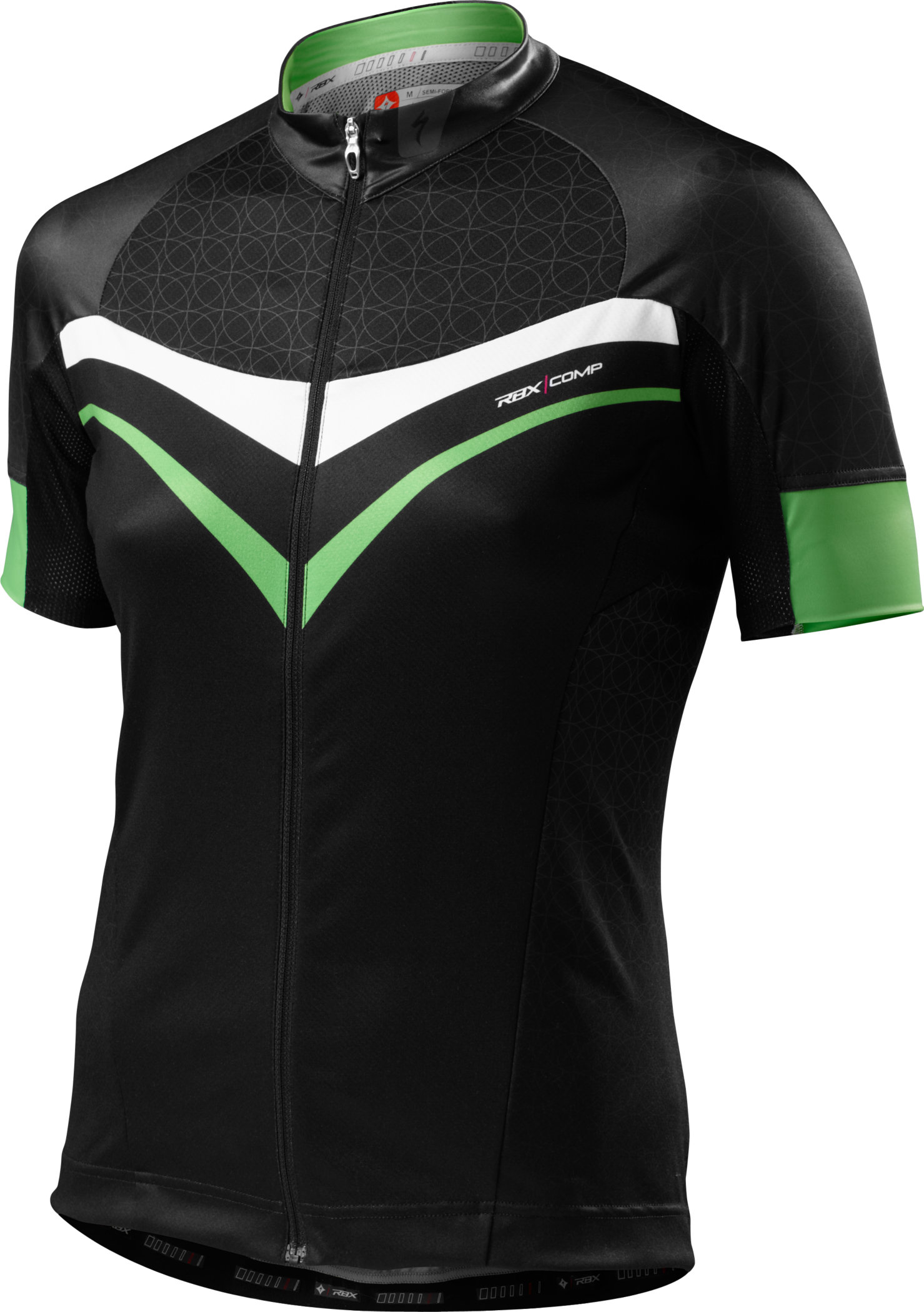 Specialized WOMEN´S RBX COMP TRIKOT Moto Green/Black Large - Alpha Bikes