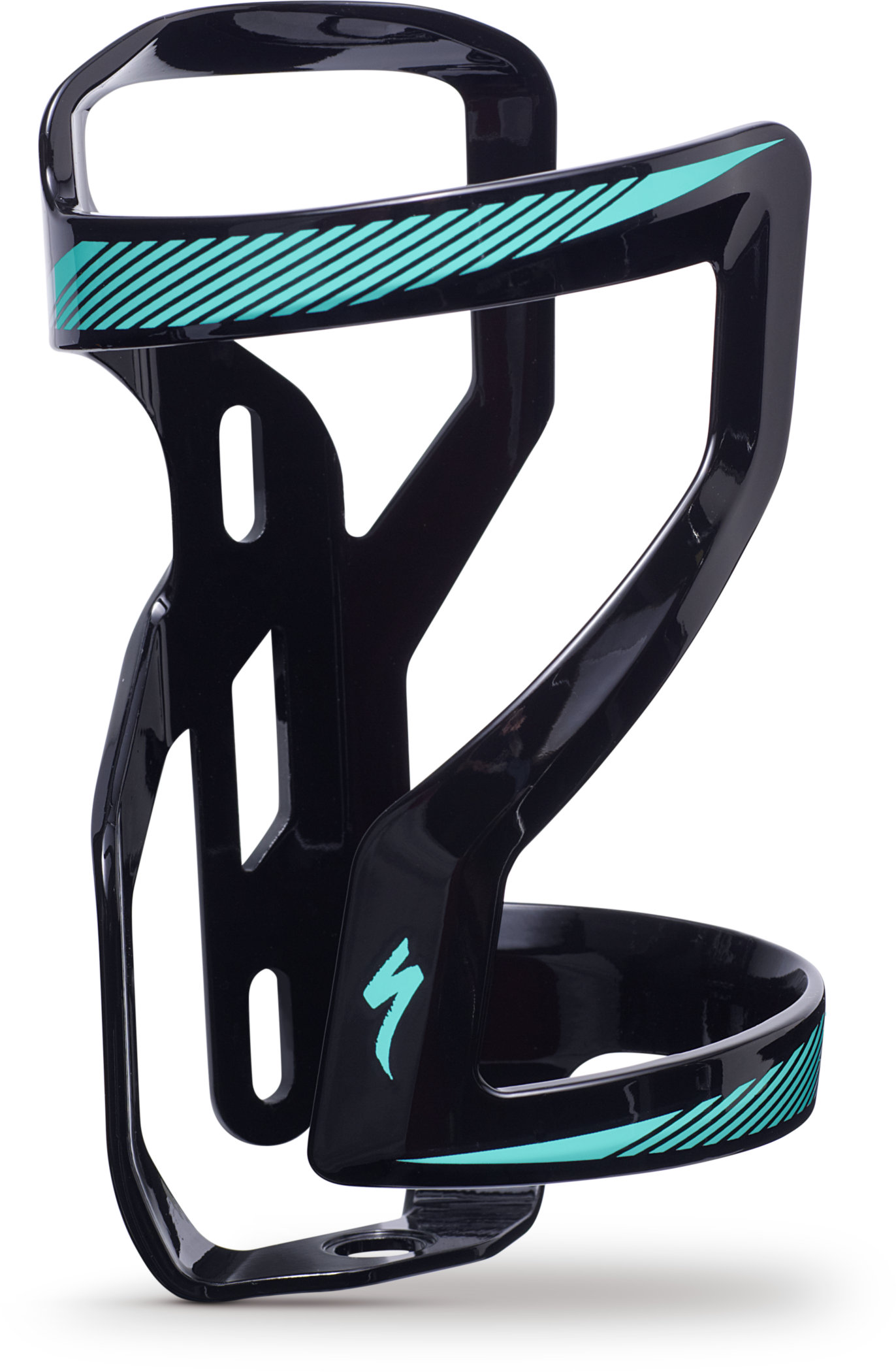 SPECIALIZED ZEE CAGE II SIDE LOADING RIGHT DT BLK/TEAL - Bikedreams & Dustbikes