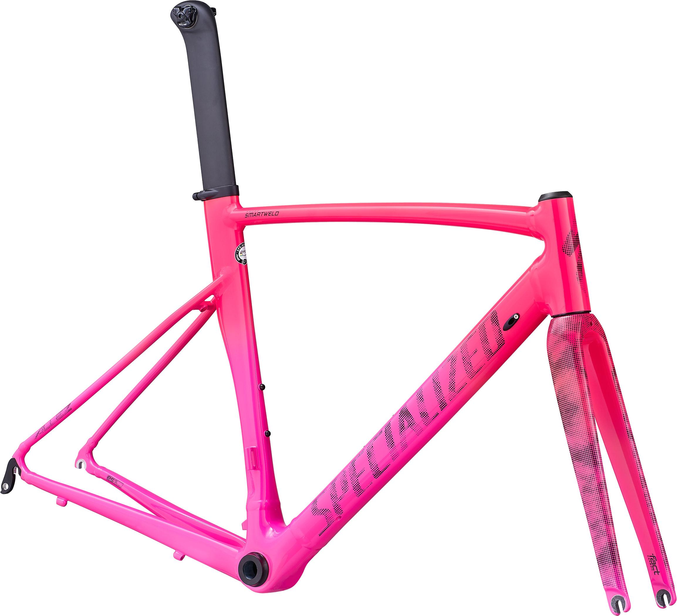 Specialized Allez Sprint Frameset Gloss Acid Pink/Acid Purple/Gravity Fade/Dot Camo 49 - Pulsschlag Bike+Sport