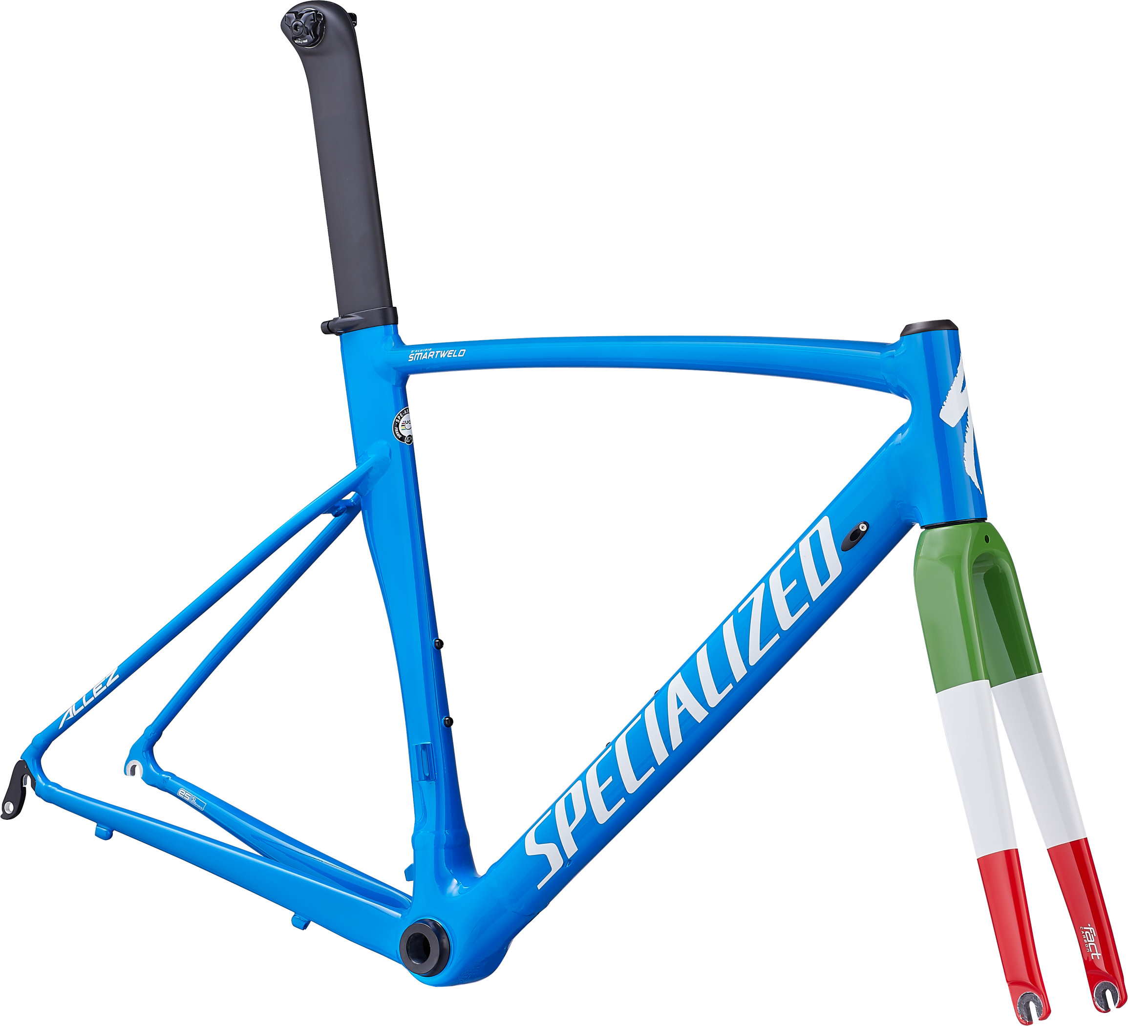 Specialized Allez Sprint Frameset Gloss Neon Blue/Italia 49 - Pulsschlag Bike+Sport