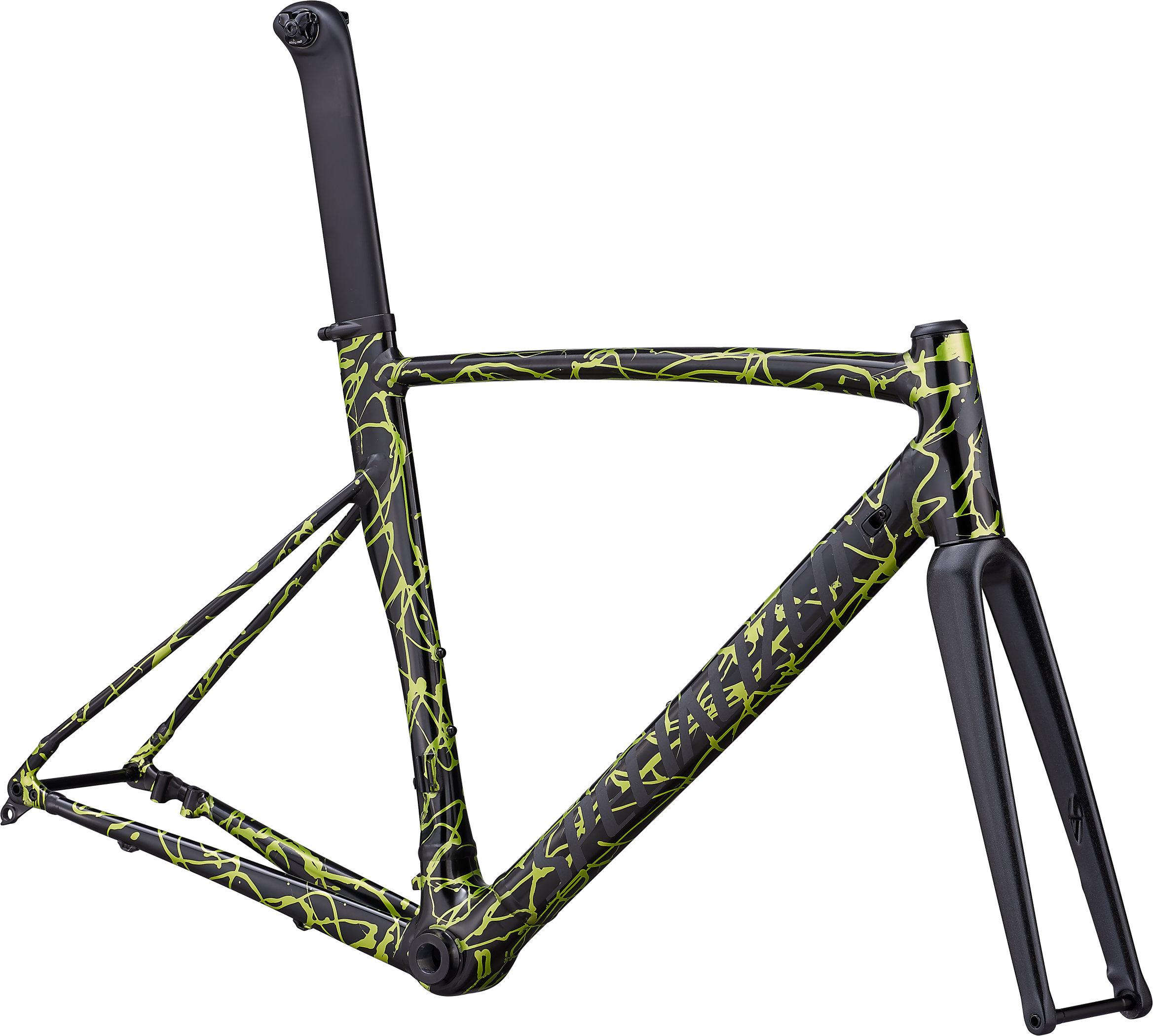 Specialized Allez Sprint Disc Frameset Satin Splash Anodized/Satin Reflective/Clean 49 - Pulsschlag Bike+Sport