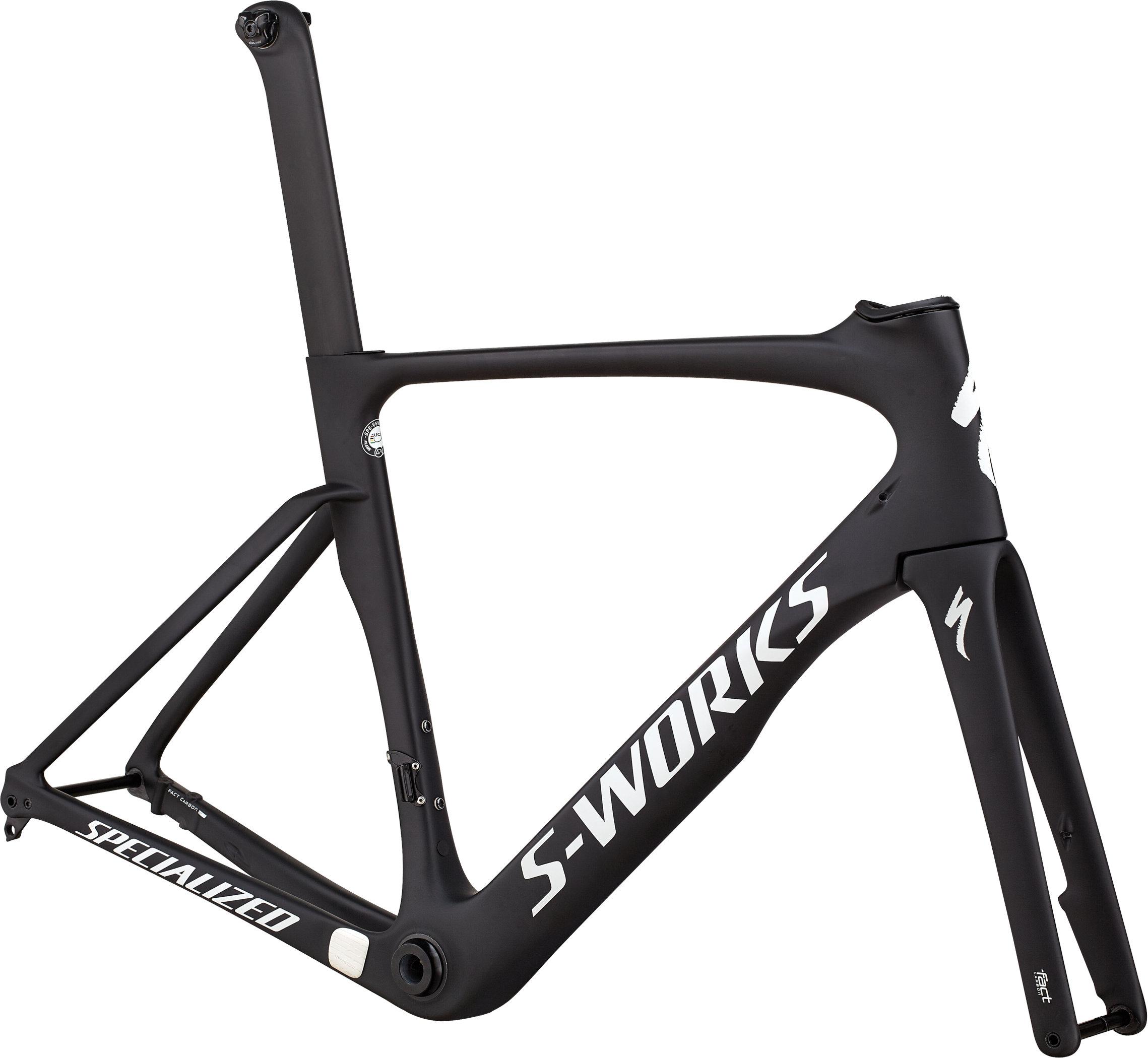 Specialized S-Works Venge ViAS Frameset Satin Black/White Reflective 49 - Pulsschlag Bike+Sport