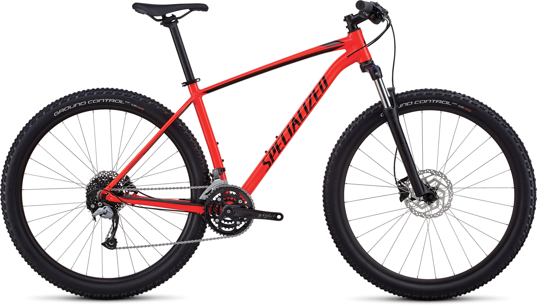 Specialized Men´s Rockhopper Comp GLOSS ROCKET RED / BLACK / CHARCOAL L - Pulsschlag Bike+Sport