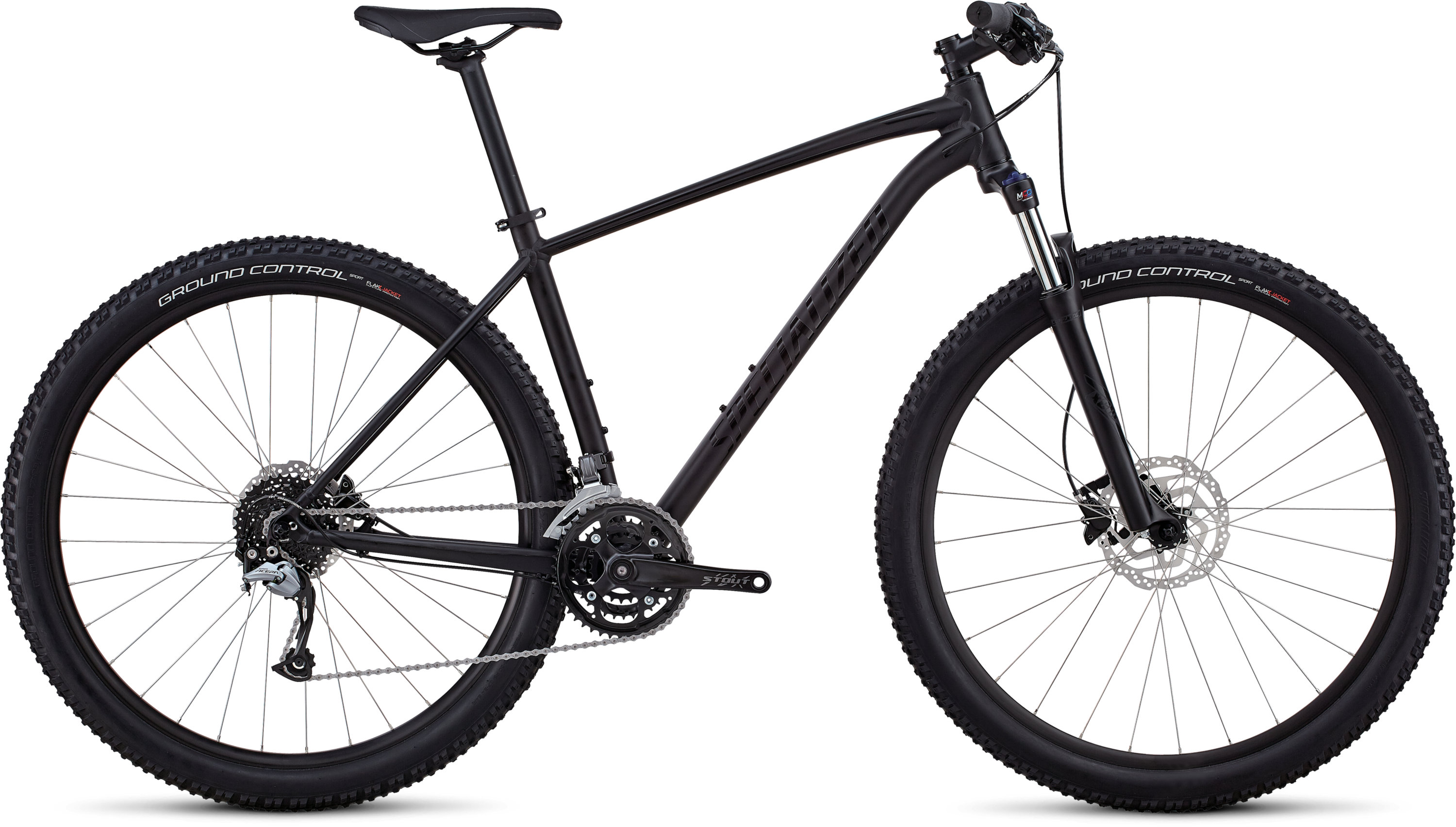 Specialized Men´s Rockhopper Comp SATIN GLOSS BLACK / BLACK M - Pulsschlag Bike+Sport