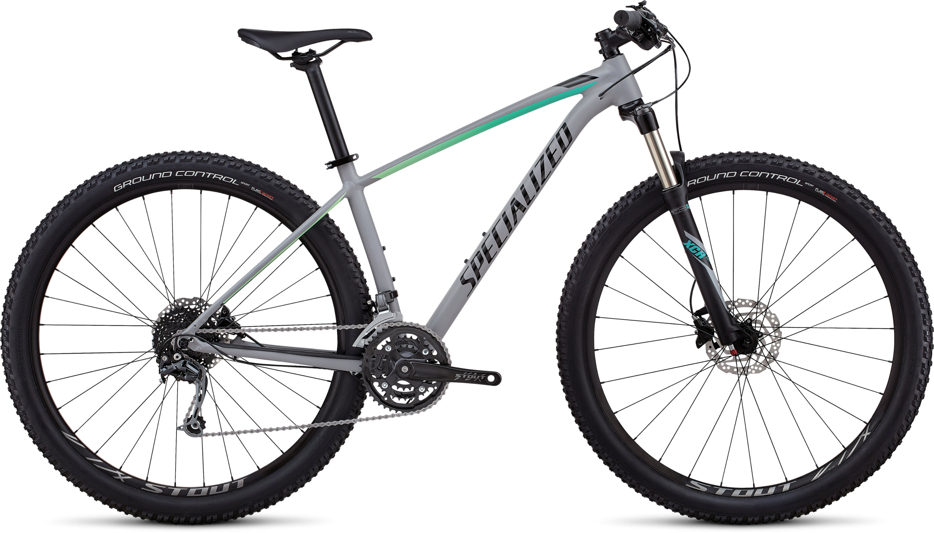 Specialized Women´s Rockhopper Expert SATIN GLOSS COOL GREY / CALI FADE / TARMAC BLACK L - Pulsschlag Bike+Sport