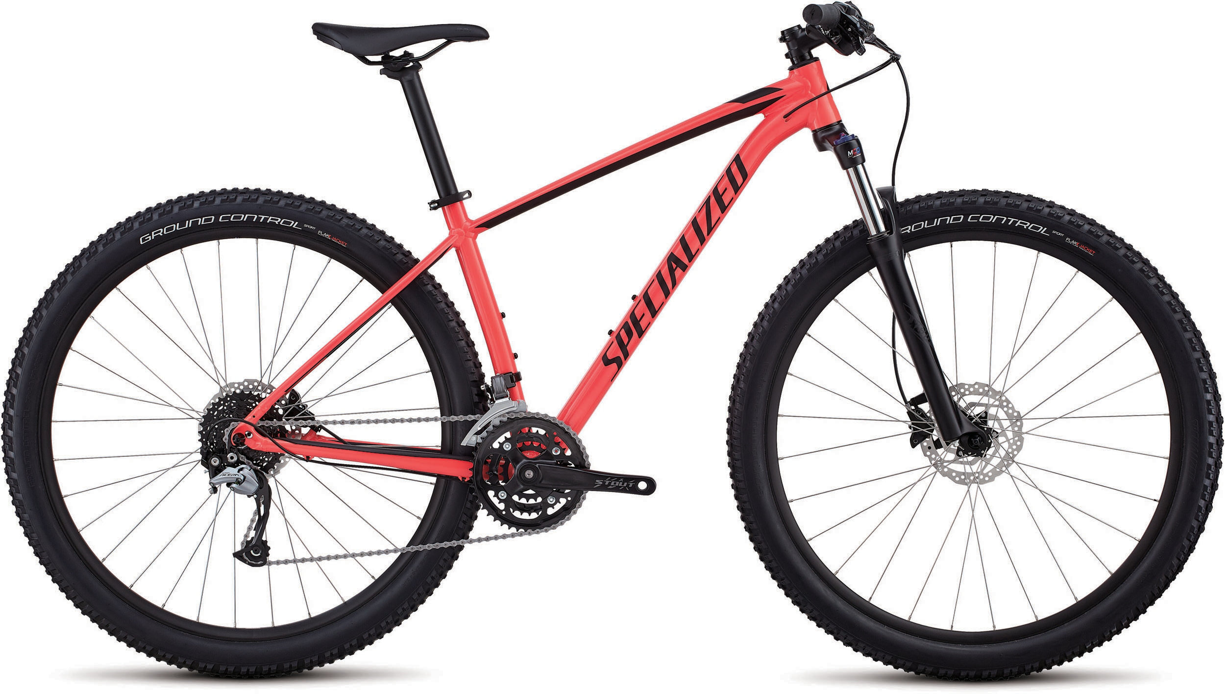 Specialized Women´s Rockhopper Comp GLOSS SATIN ACID RED / BLACK S - Pulsschlag Bike+Sport