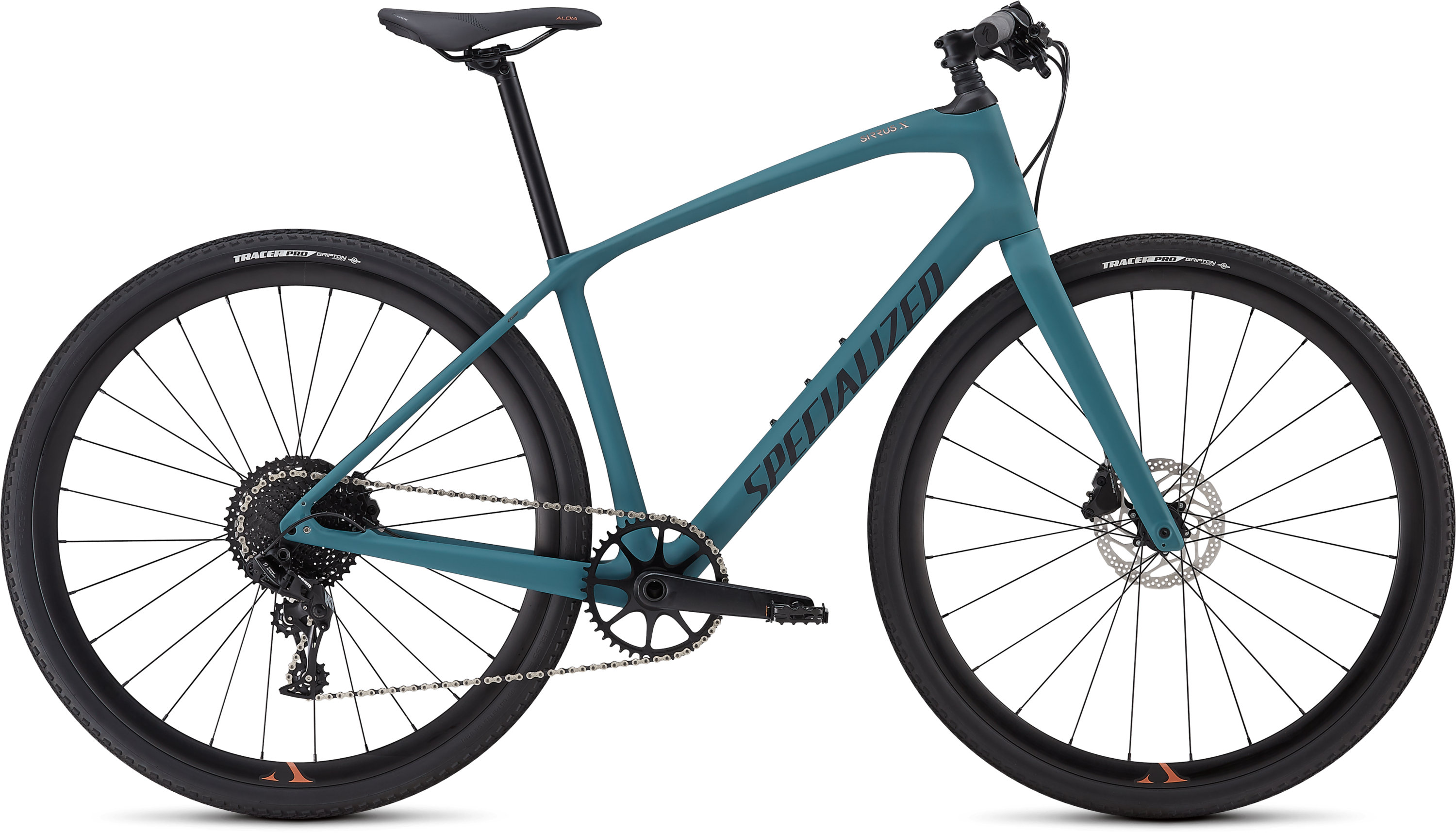 Specialized Women´s Sirrus X Comp Carbon Satin Dusty Turquoise/Copper/Black Reflective L - Pulsschlag Bike+Sport