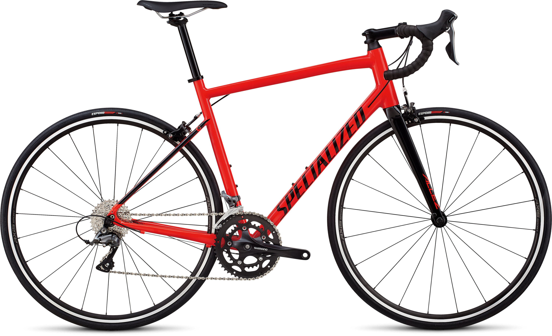 Specialized Allez Gloss Rocket Red / Tarmac Black 49 - Pulsschlag Bike+Sport