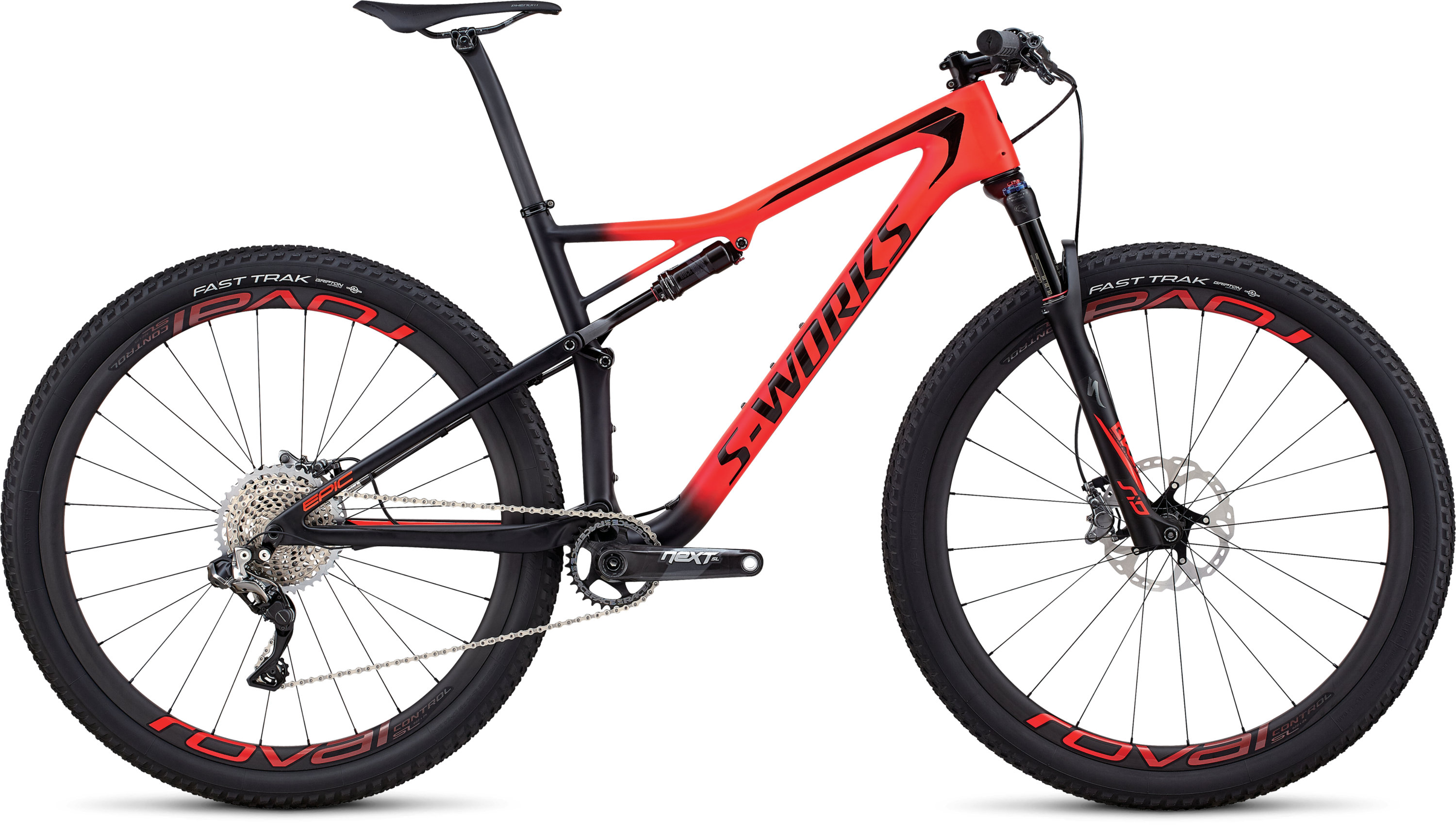 Specialized Men´s S-Works Epic XTR Di2 SATIN GLOSS ROCKET RED / BLACK L - Pulsschlag Bike+Sport