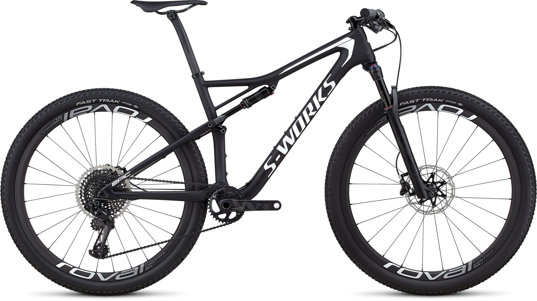 Specialized Men´s S-Works Epic XX1 Eagle SATIN GLOSS BLACK / METALLIC WHITE SILVER L - Pulsschlag Bike+Sport