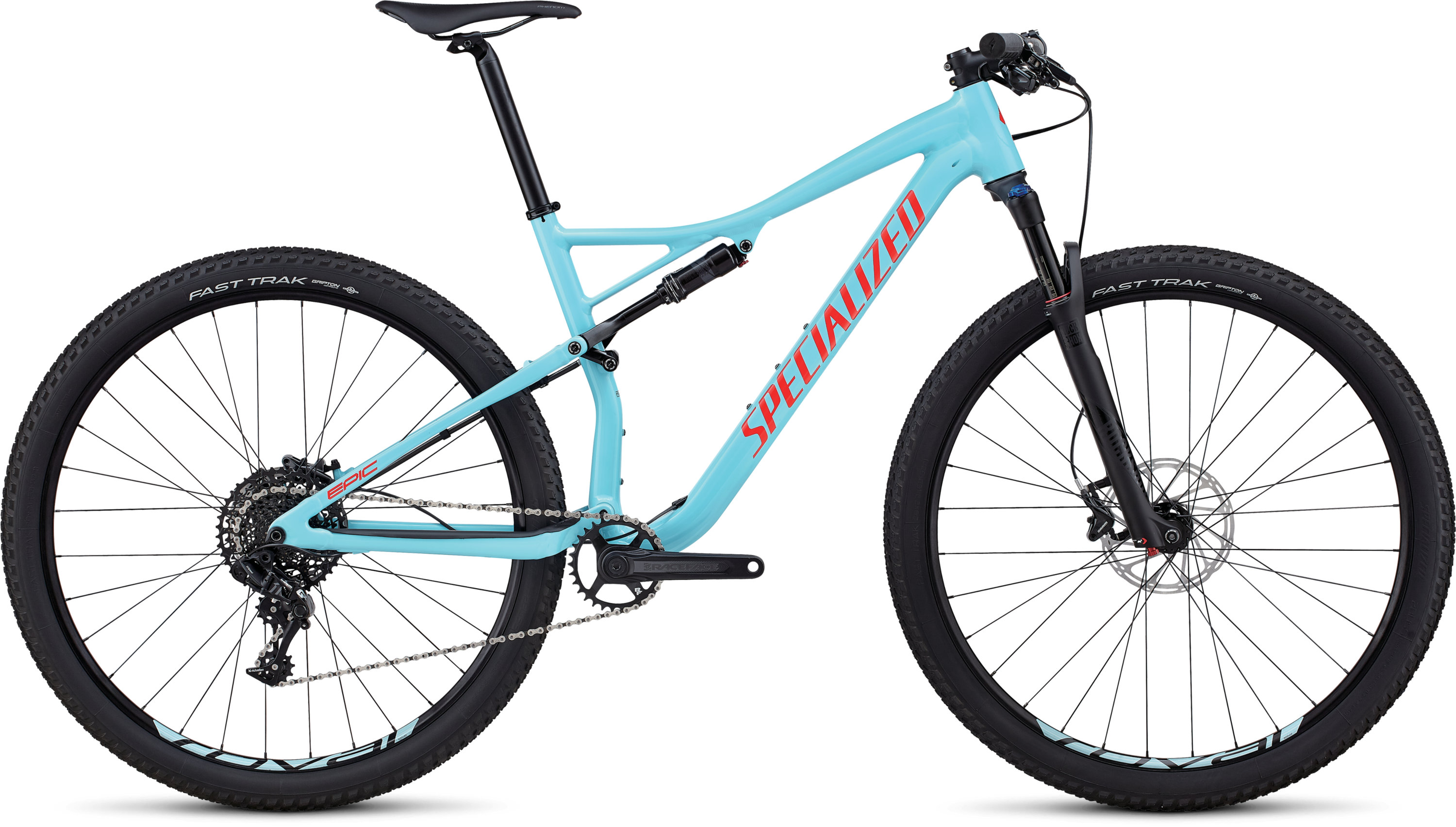 Specialized Men´s Epic Comp GLOSS LIGHT BLUE / ROCKET RED S - Pulsschlag Bike+Sport