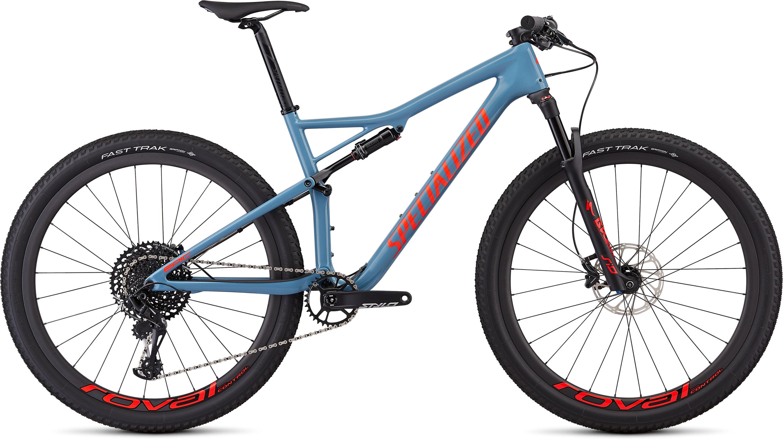 Specialized Men´s Epic Expert Gloss Storm Grey/Rocket red L - Pulsschlag Bike+Sport