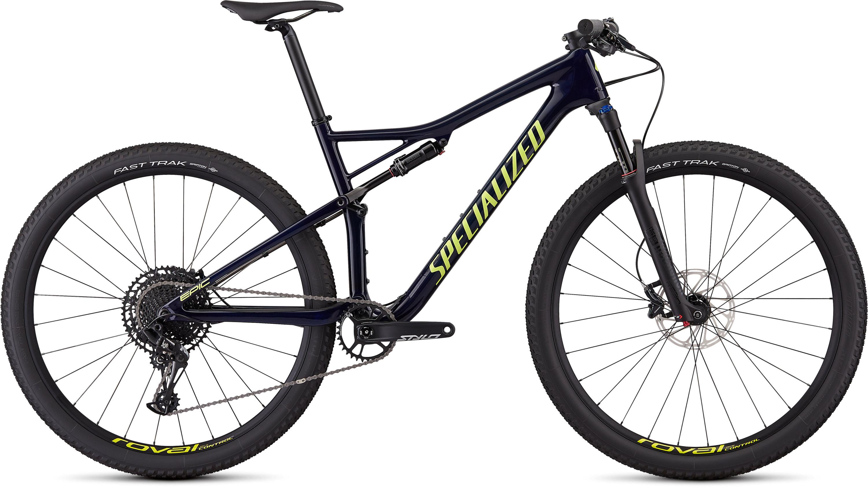 Specialized Men´s Epic Comp Carbon Gloss Blue Tint Carbon/Ion L - Pulsschlag Bike+Sport