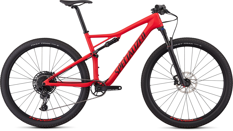 Specialized Men´s Epic Comp Carbon Satin Flo Red/Black L - Pulsschlag Bike+Sport