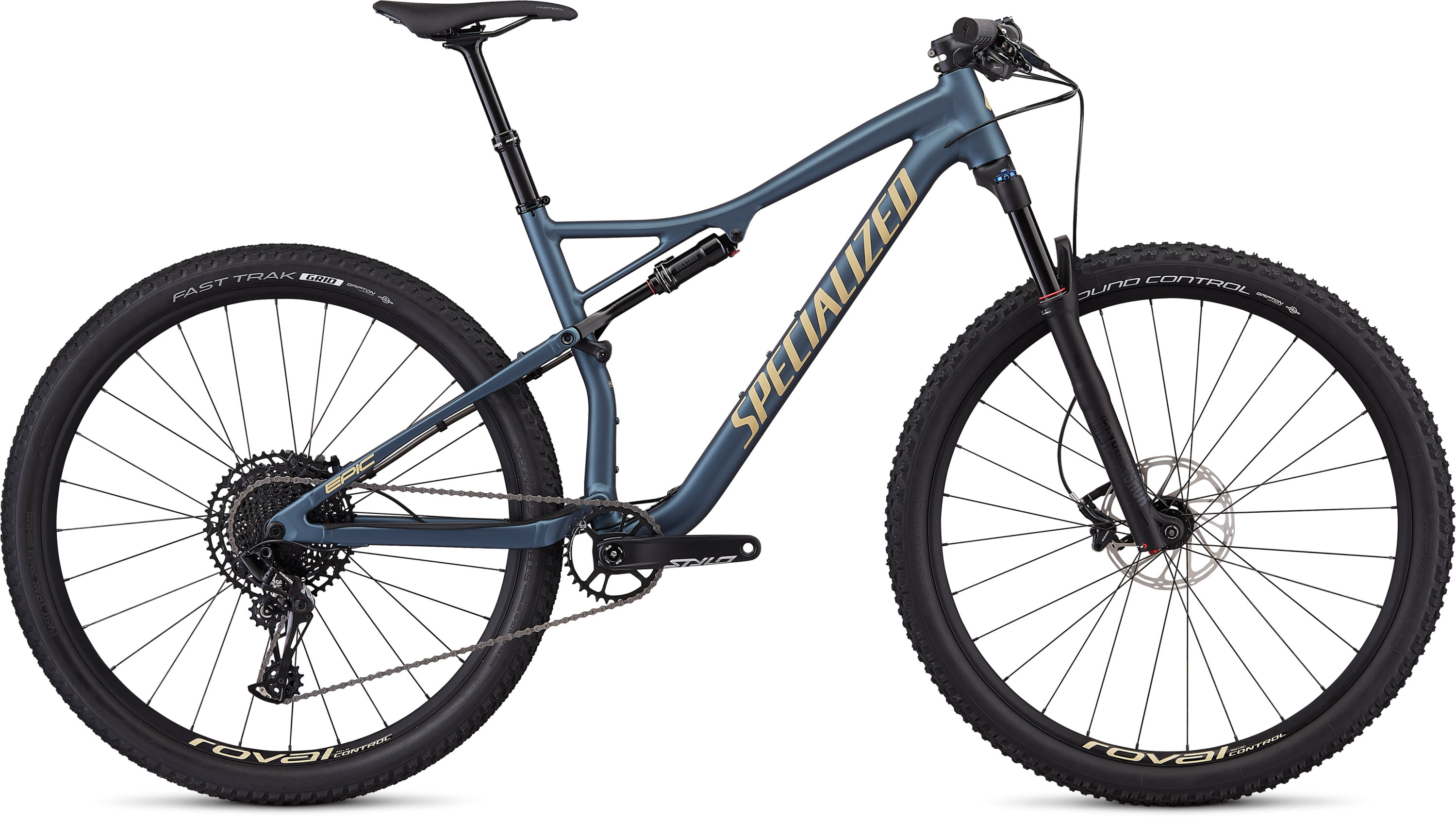 Specialized Epic Comp EVO Satin Cast Battleship/Mojave L - Pulsschlag Bike+Sport