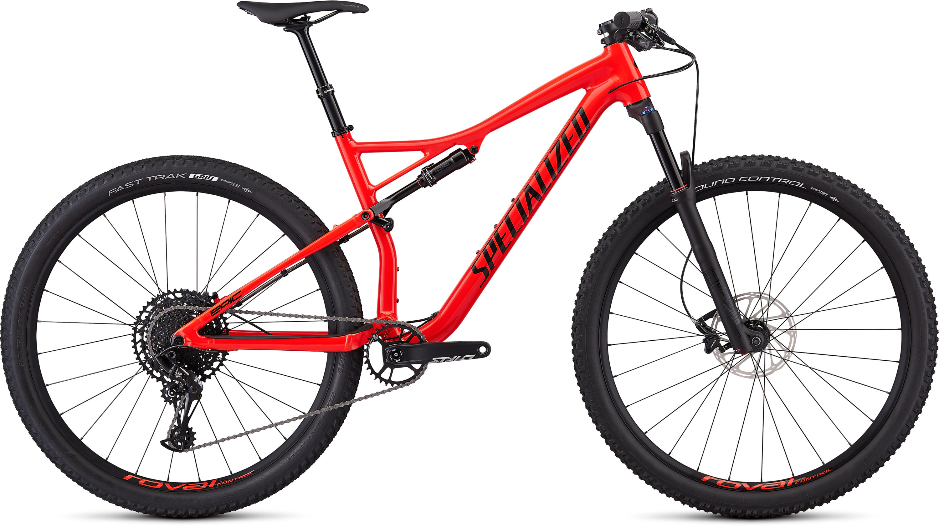 Specialized Epic Comp EVO Gloss Rocket Red/Tarmac Black L - Pulsschlag Bike+Sport