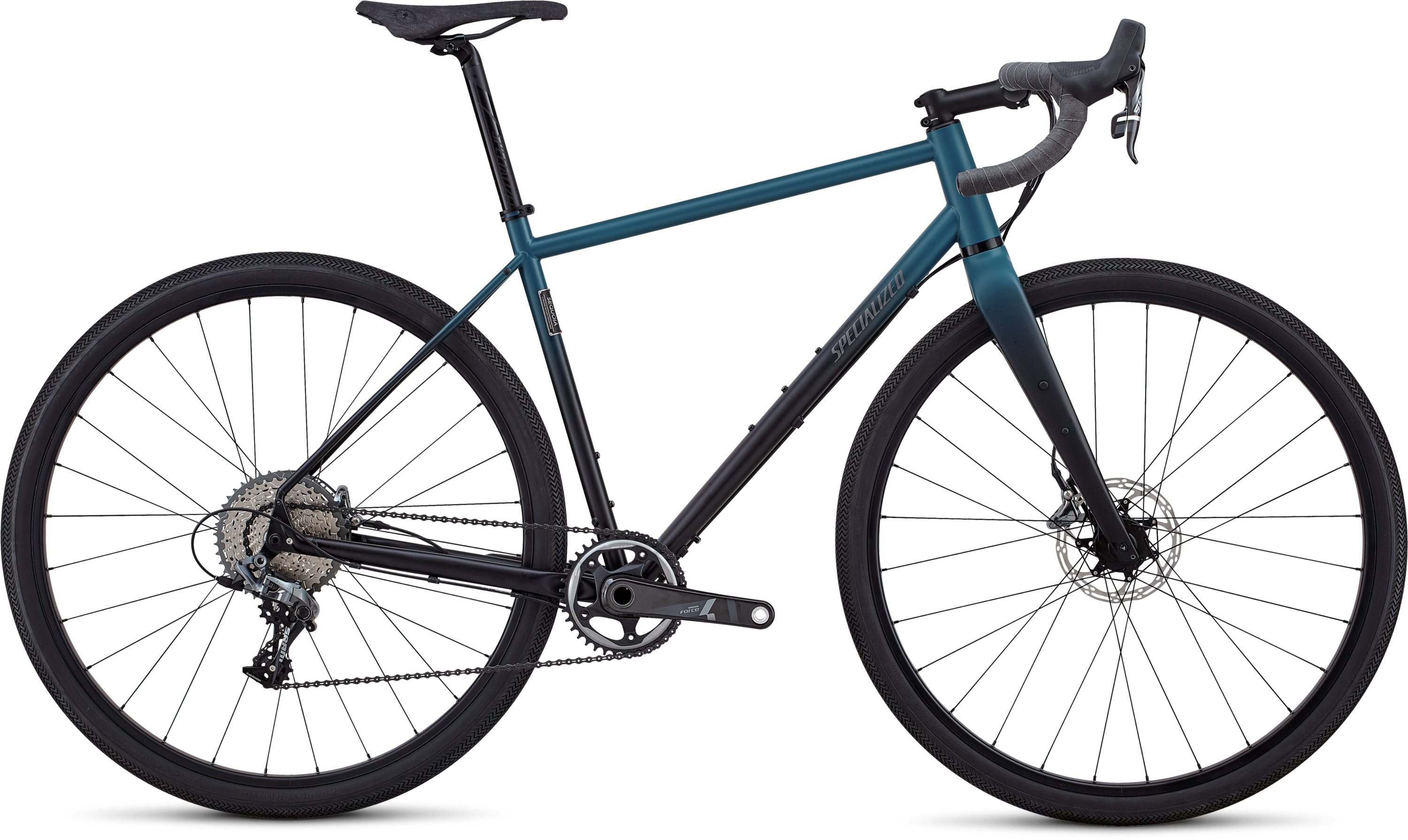 Specialized Sequoia Expert BLACK TROPICAL TEAL FADE 50 - Pulsschlag Bike+Sport