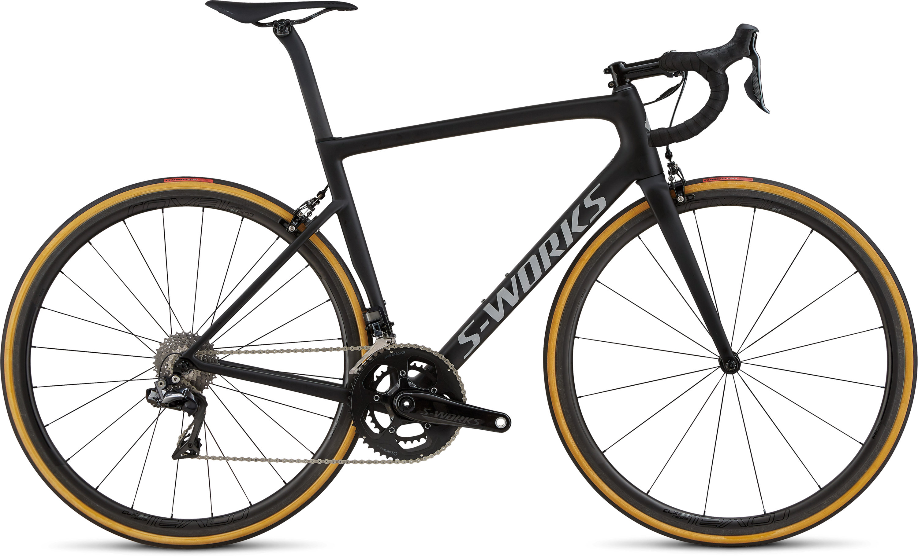 Specialized Men´s S-Works Tarmac Ultralight Ultralight Monocoat Black/Silver Reflective/Clean 49 - Pulsschlag Bike+Sport