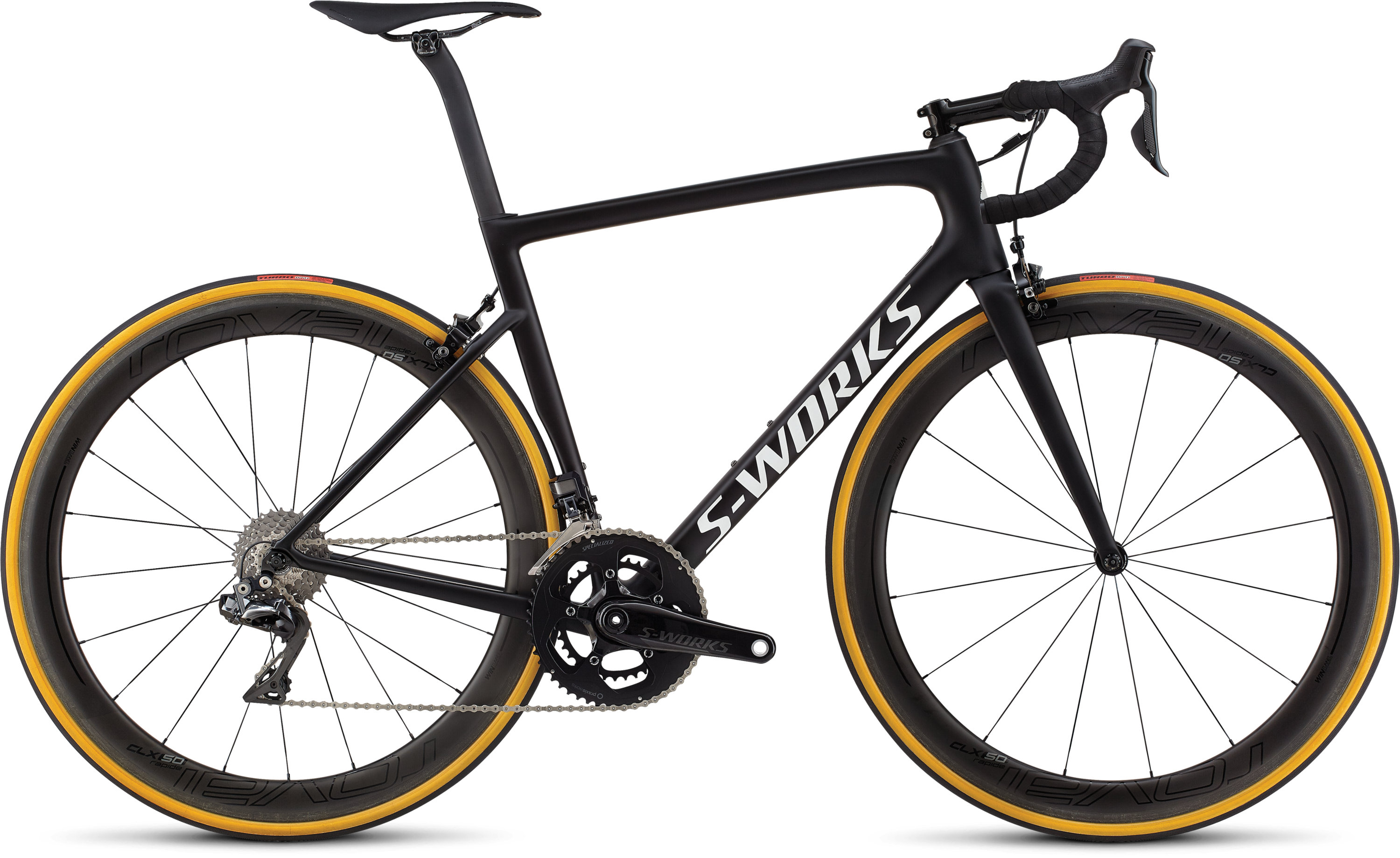 Specialized Men´s S-Works Tarmac Mono Black/White Reflective/Clean 49 - Pulsschlag Bike+Sport