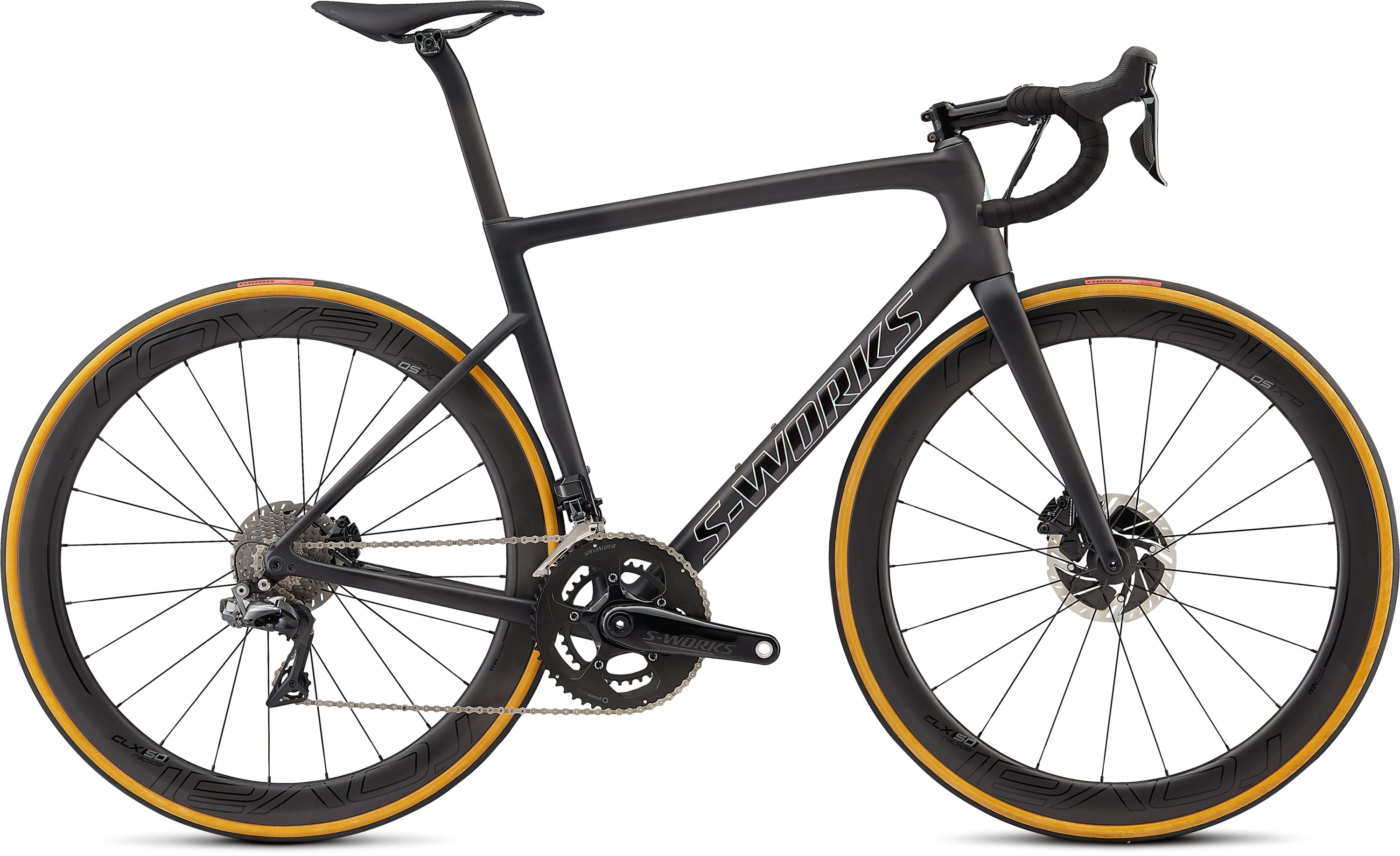 Specialized Men´s S-Works Tarmac Disc Satin Black/Silver Holo/Clean 49 - Pulsschlag Bike+Sport