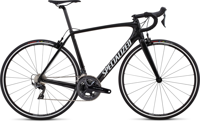 Specialized Men´s Tarmac SL5 Expert DA Cosmic Black/White/Hollogram/Clean 49 - Pulsschlag Bike+Sport