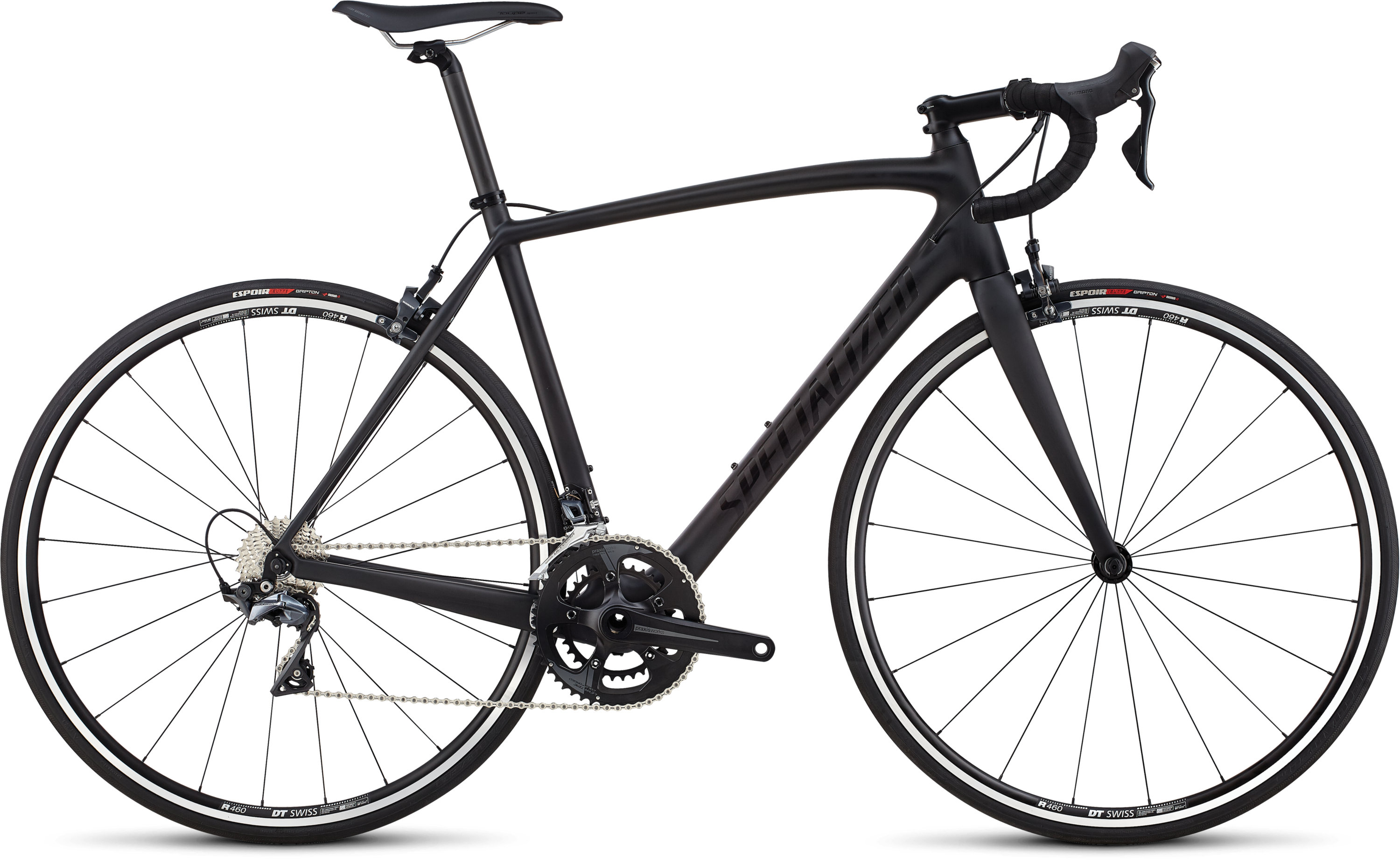 Specialized Men´s Tarmac Elite Carbon/Gloss Tarmac Black/Clean 49 - Pulsschlag Bike+Sport