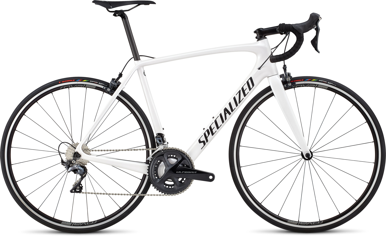 Specialized Men´s Tarmac Comp Metallic White Silver/Satin Black/Clean 49 - Pulsschlag Bike+Sport