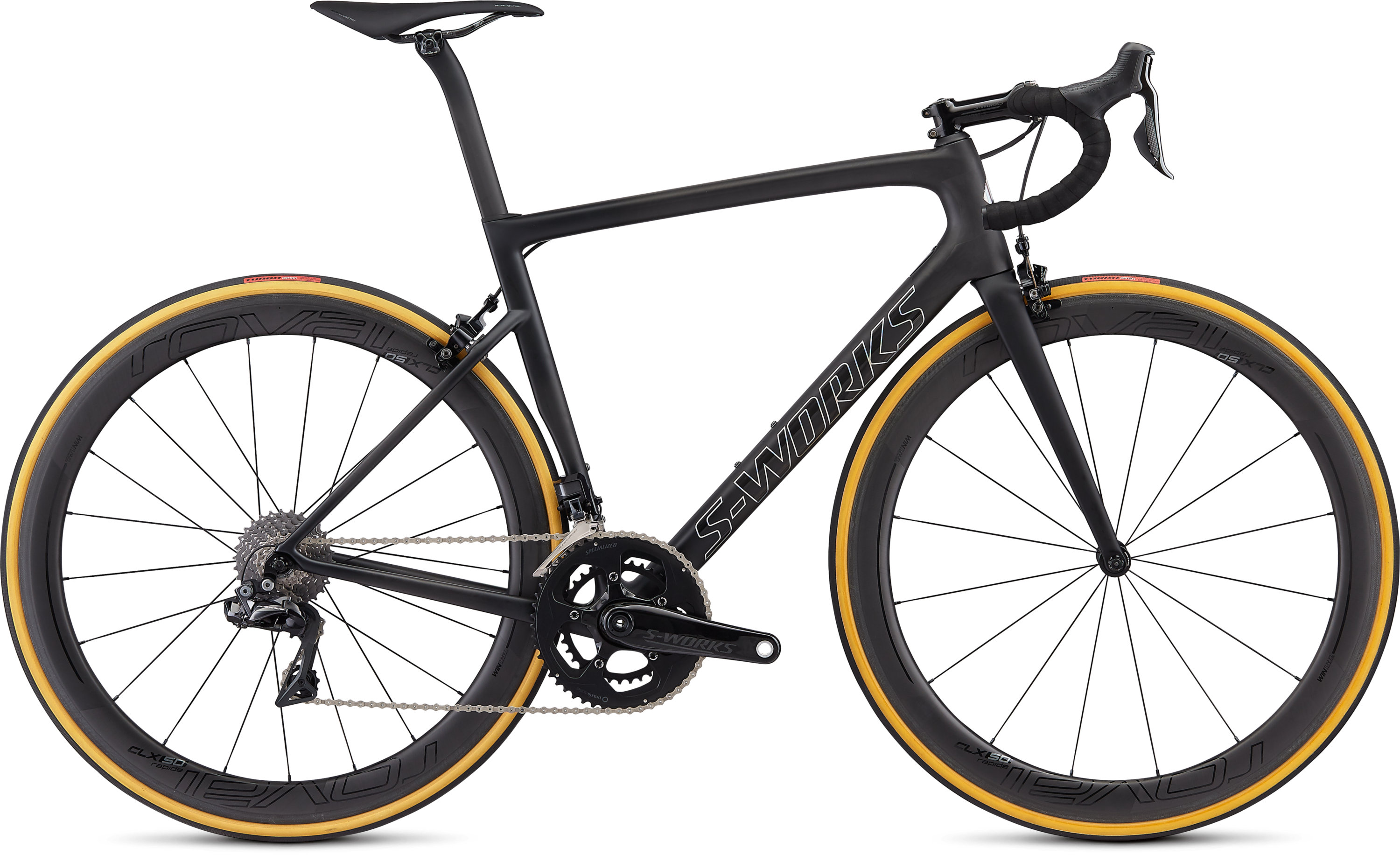 Specialized Men´s S-Works Tarmac Satin Black/Silver Holo/Clean 49 - Pulsschlag Bike+Sport