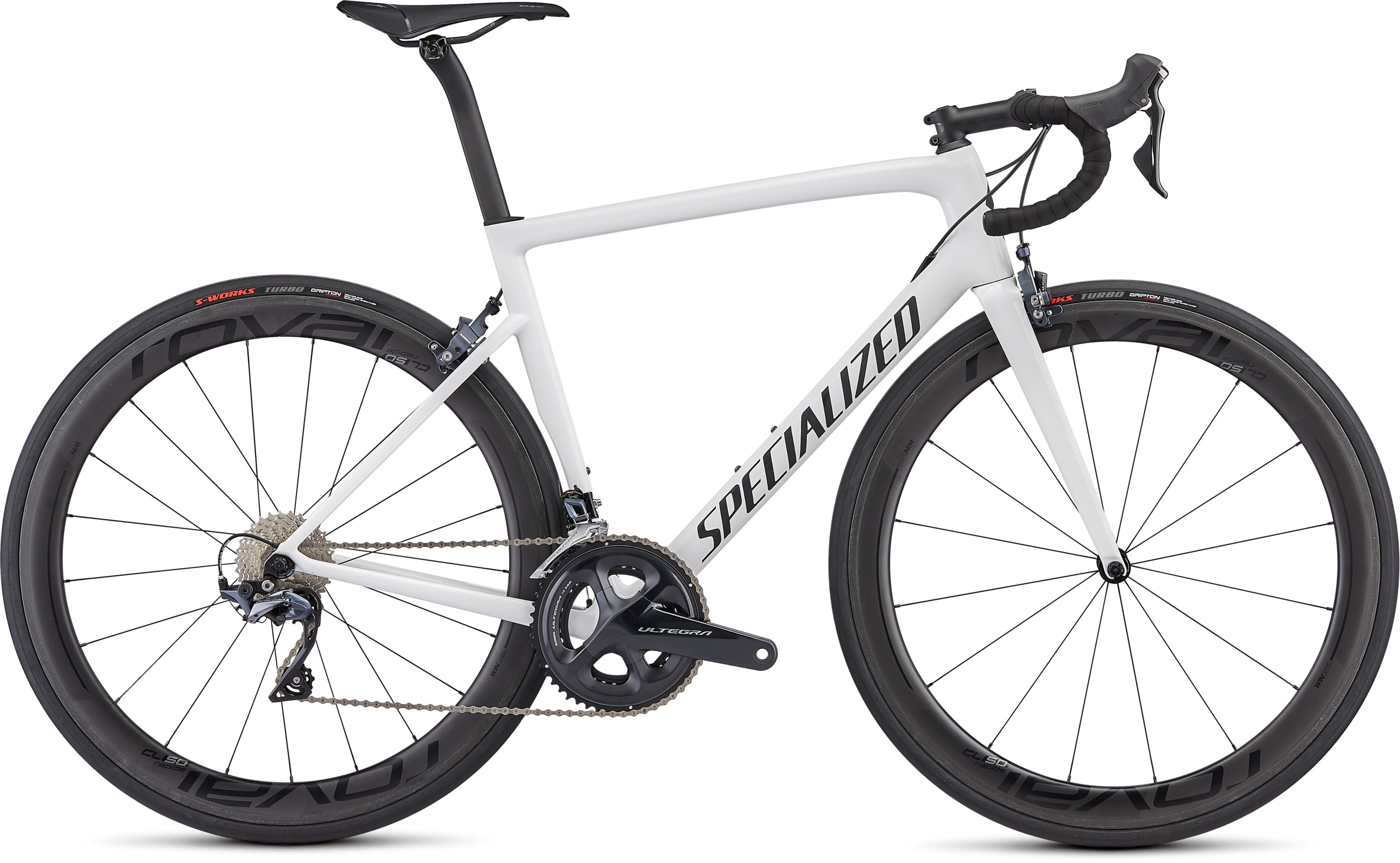 Specialized Men´s Tarmac Expert White/Blue Ghost Pearl/Satin Black/Clean 49 - Pulsschlag Bike+Sport