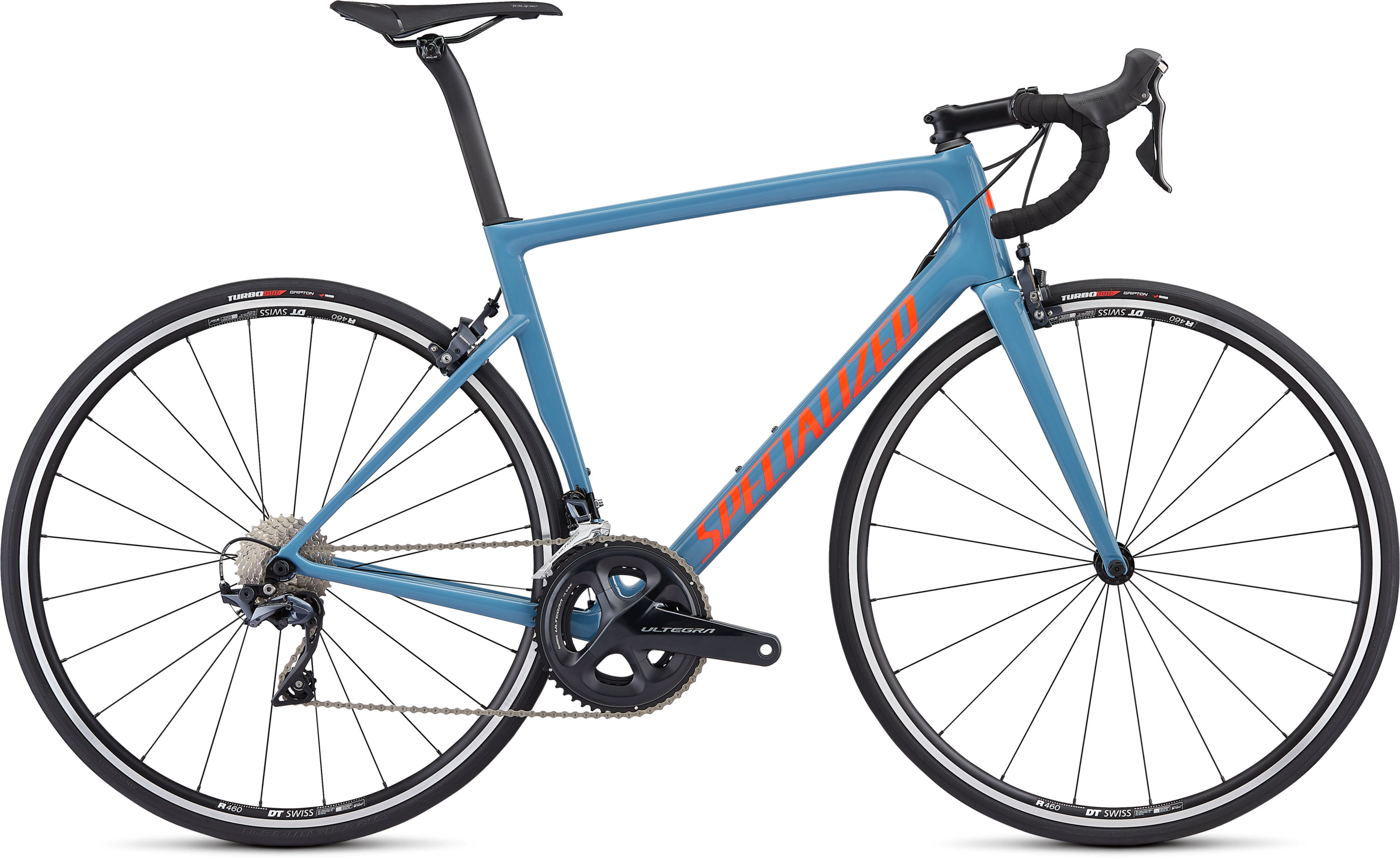 Specialized Men´s Tarmac Comp Gloss Storm Grey/Rocket Red/Clean 49 - Pulsschlag Bike+Sport