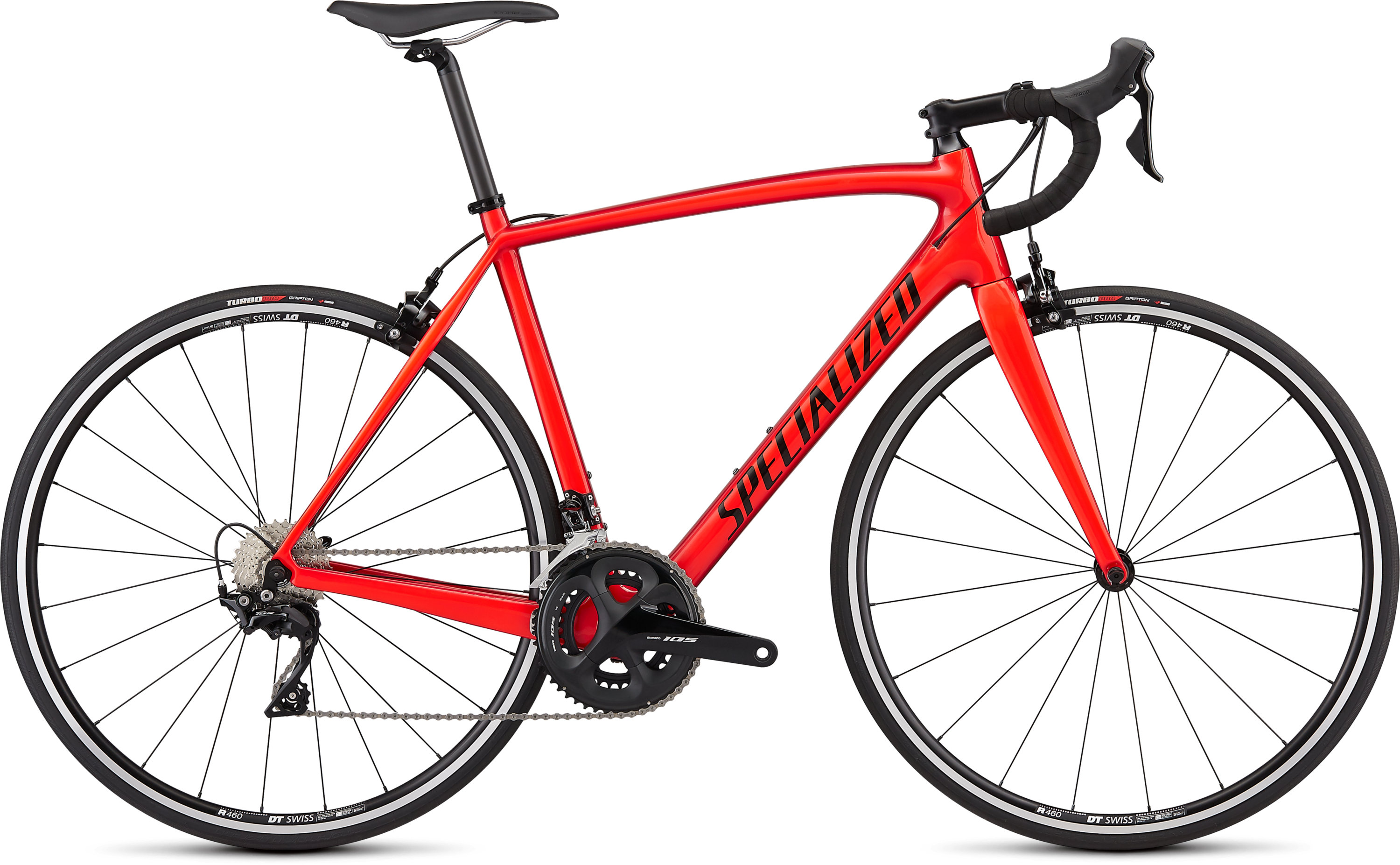 Specialized Men´s Tarmac SL4 Sport Gloss Candy Red/Rocket Red/Tarmac Black/Clean 56 - Pulsschlag Bike+Sport