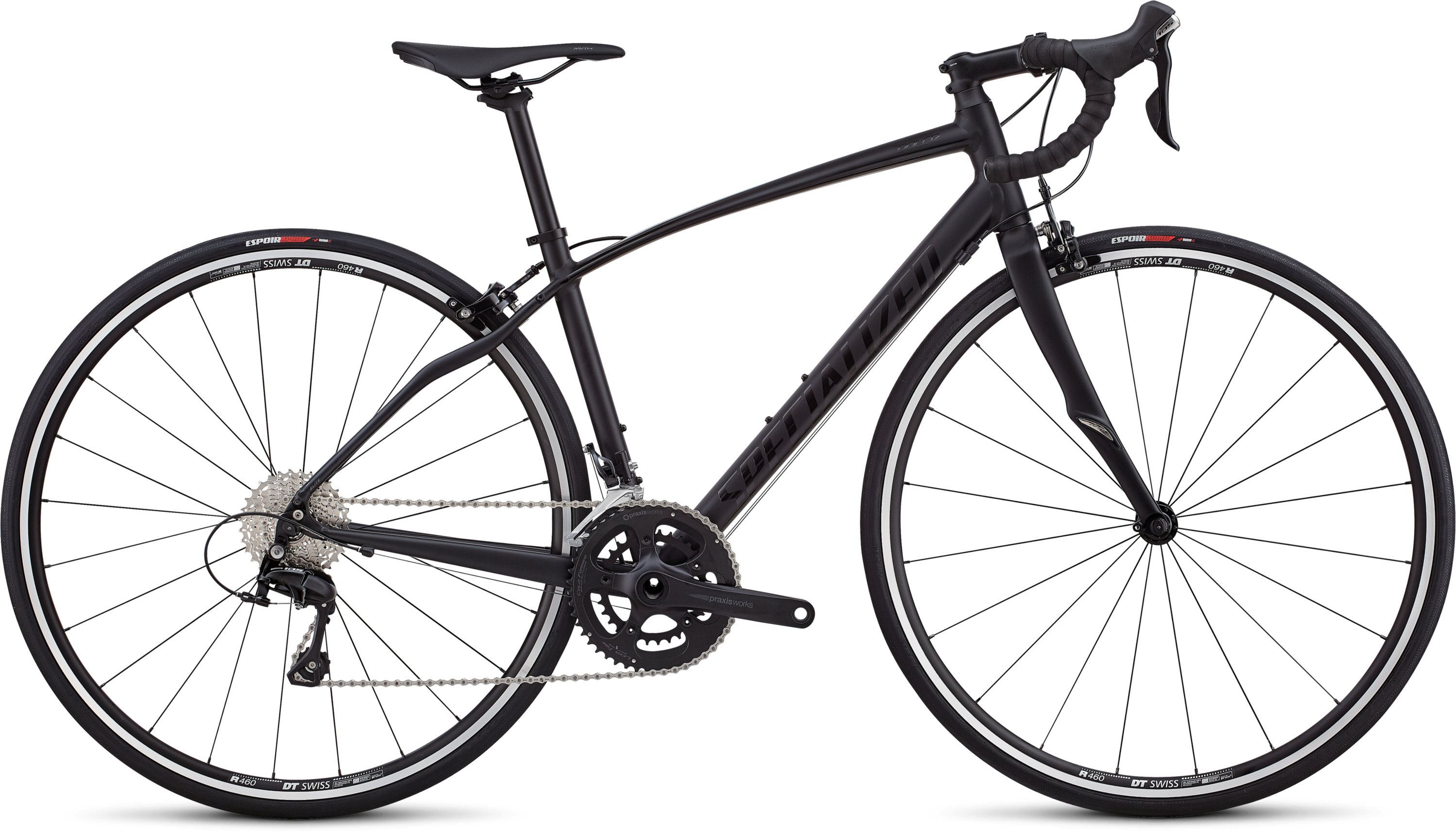 Specialized Dolce Elite SATIN  / GLOSS / TARMAC BLACK / BLACK 44 - Pulsschlag Bike+Sport