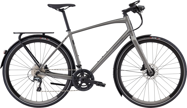 Specialized Men´s Sirrus Elite EQ—Black Top Collection Satin Brushed L - Pulsschlag Bike+Sport