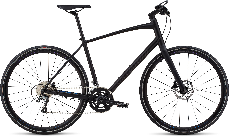 Specialized Men´s Sirrus Elite Alloy Black/Purple Chameleon/Nearly Black Reflective L - Pulsschlag Bike+Sport