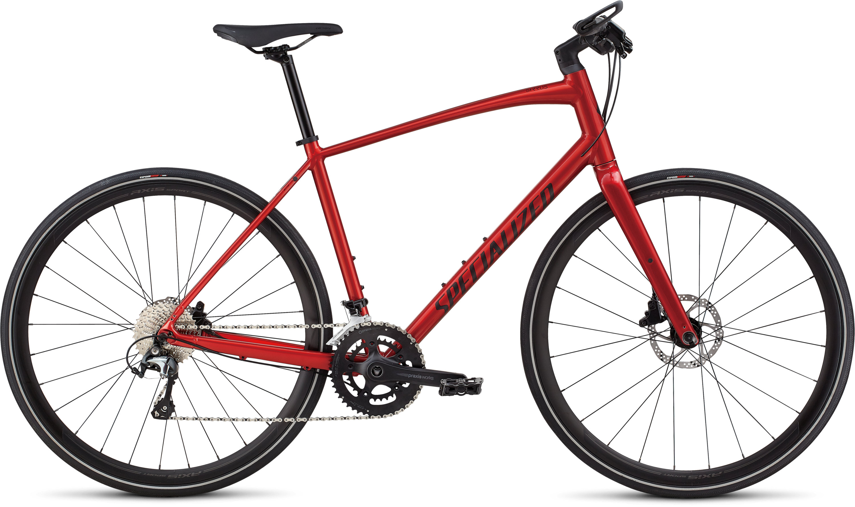 Specialized Men´s Sirrus Elite Alloy Candy Red/Rocket Red XL - Pulsschlag Bike+Sport