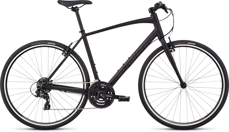 Specialized Men´s Sirrus V-Brake Black/Gloss Black/Black Reflective L - Pulsschlag Bike+Sport