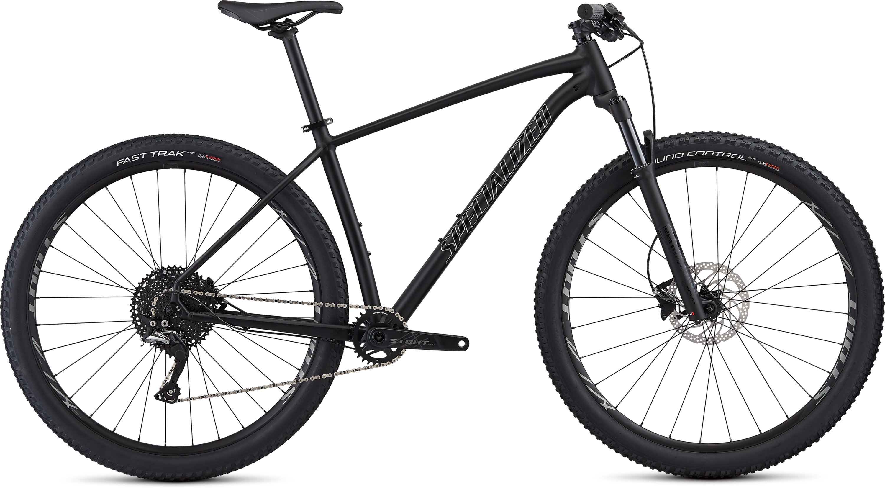 Specialized Men´s Rockhopper Pro 1X Satin Gloss Black/Chrome S - Pulsschlag Bike+Sport
