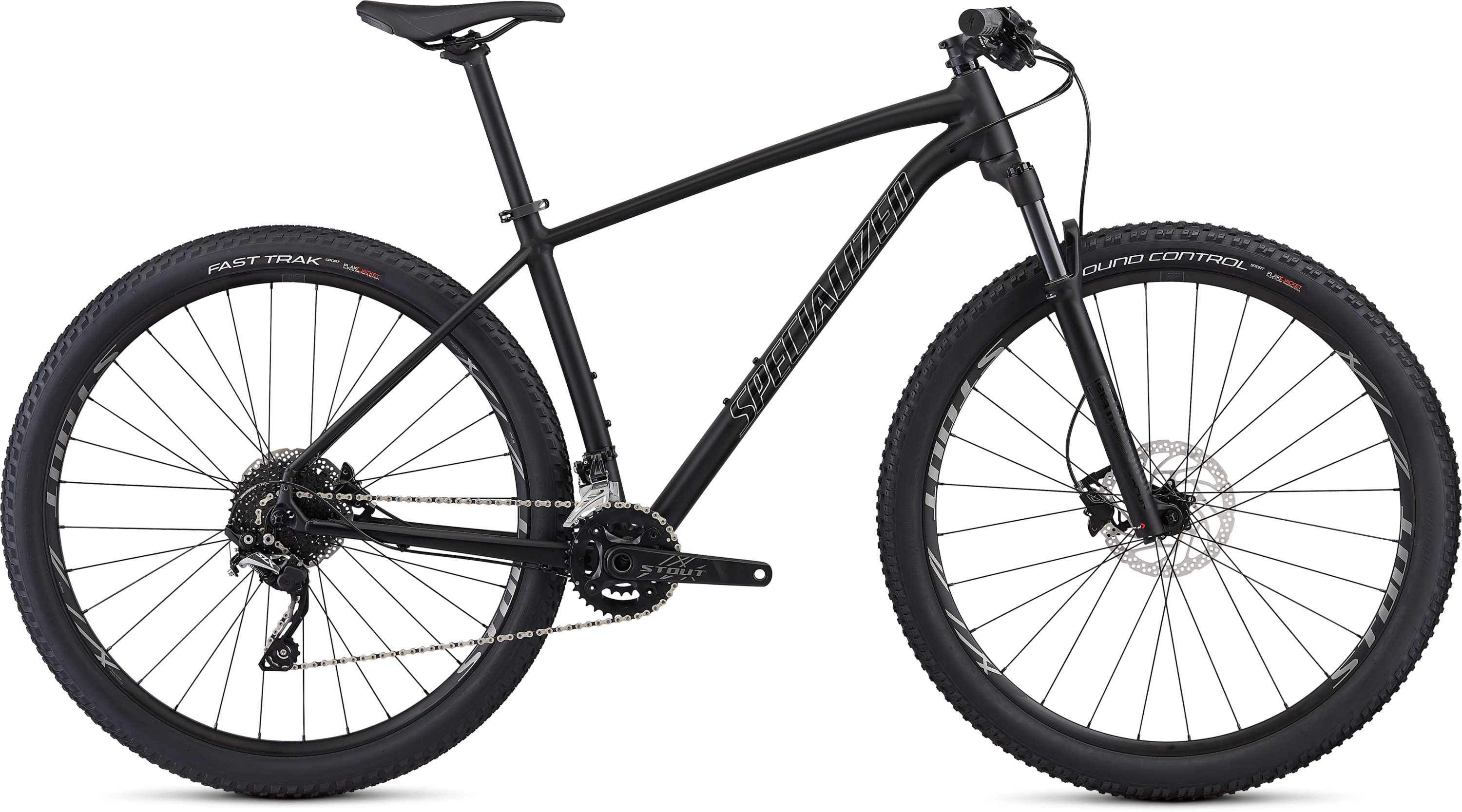 Specialized Men´s Rockhopper Pro Satin Gloss Black/Chrome L - Pulsschlag Bike+Sport