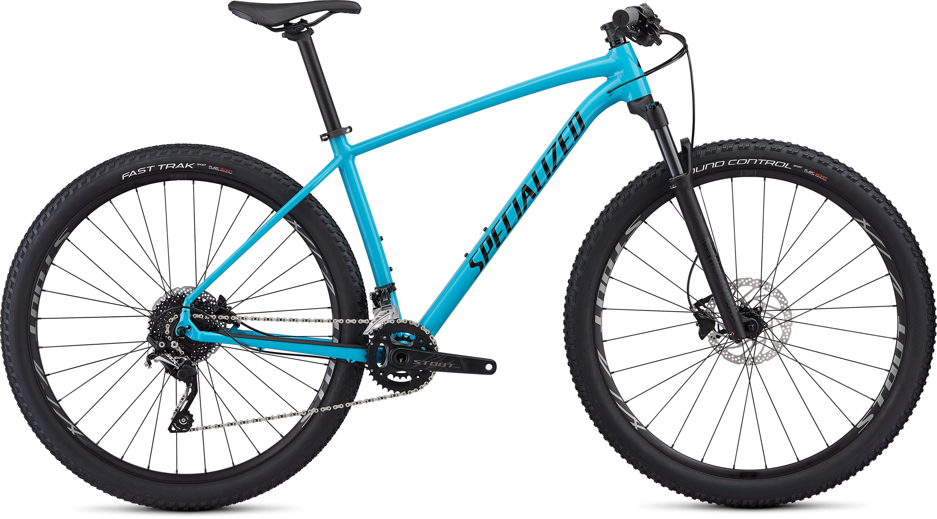 Specialized Men´s Rockhopper Pro Gloss Nice Blue/Black/Clean L - Pulsschlag Bike+Sport