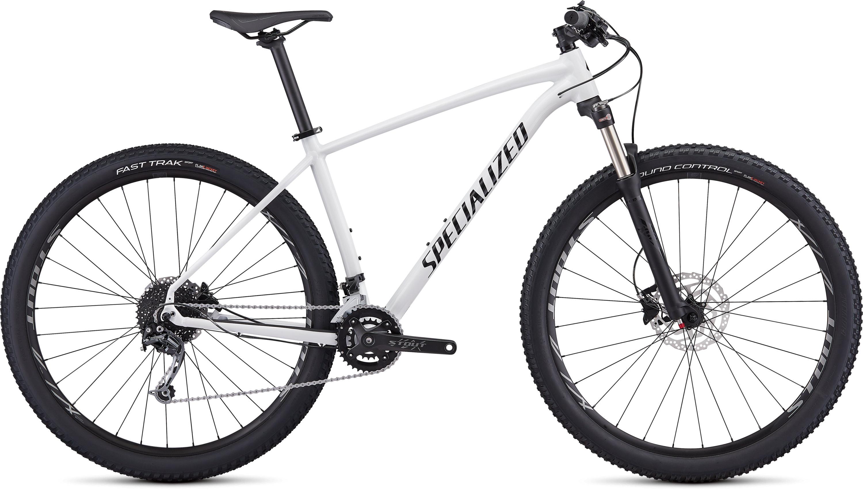 Specialized Men´s Rockhopper Expert Gloss White/Black/Clean L - Pulsschlag Bike+Sport