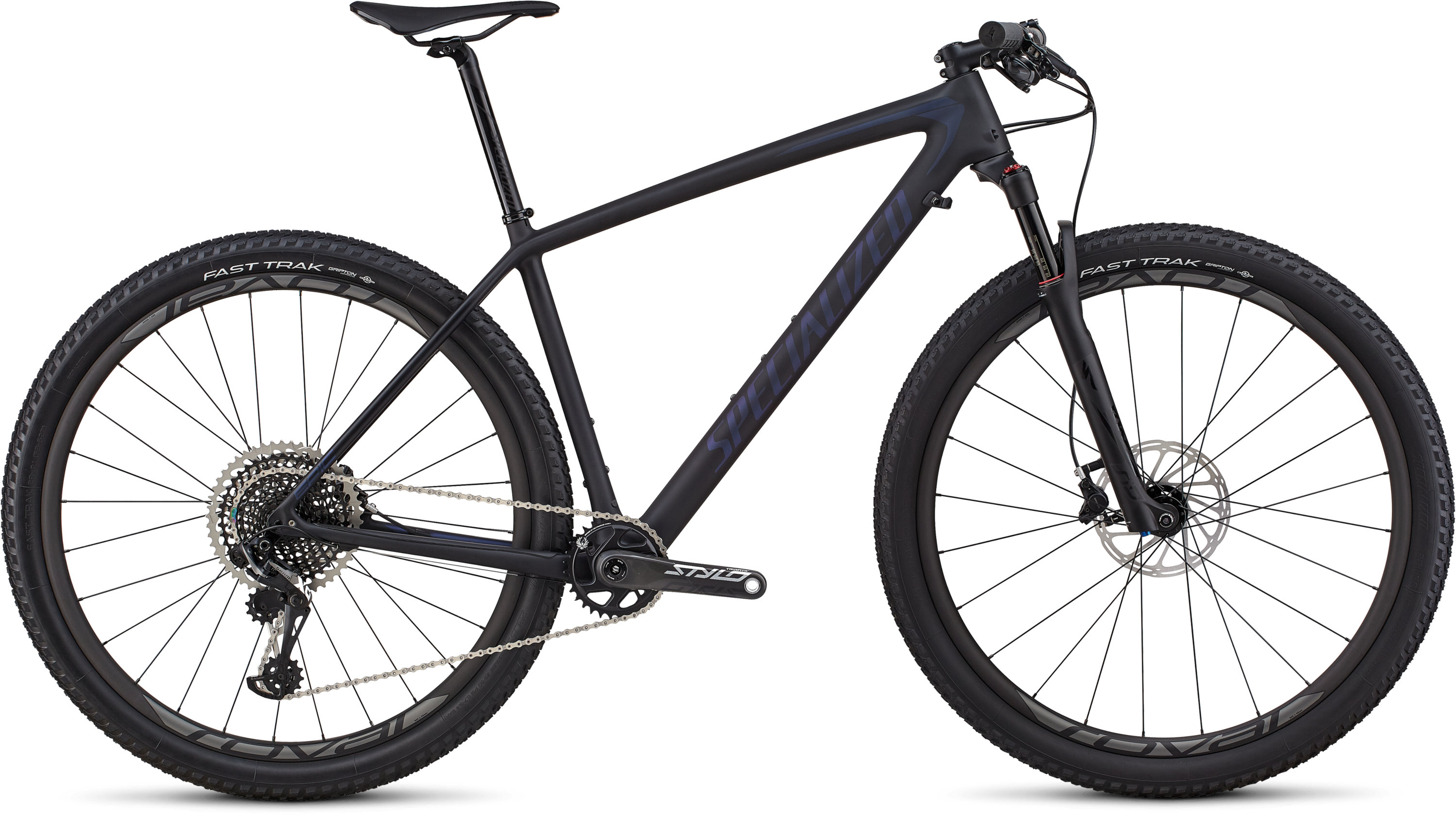 Specialized Men´s Epic Hardtail Pro SATIN BLACK / CHAMELEON L - Pulsschlag Bike+Sport