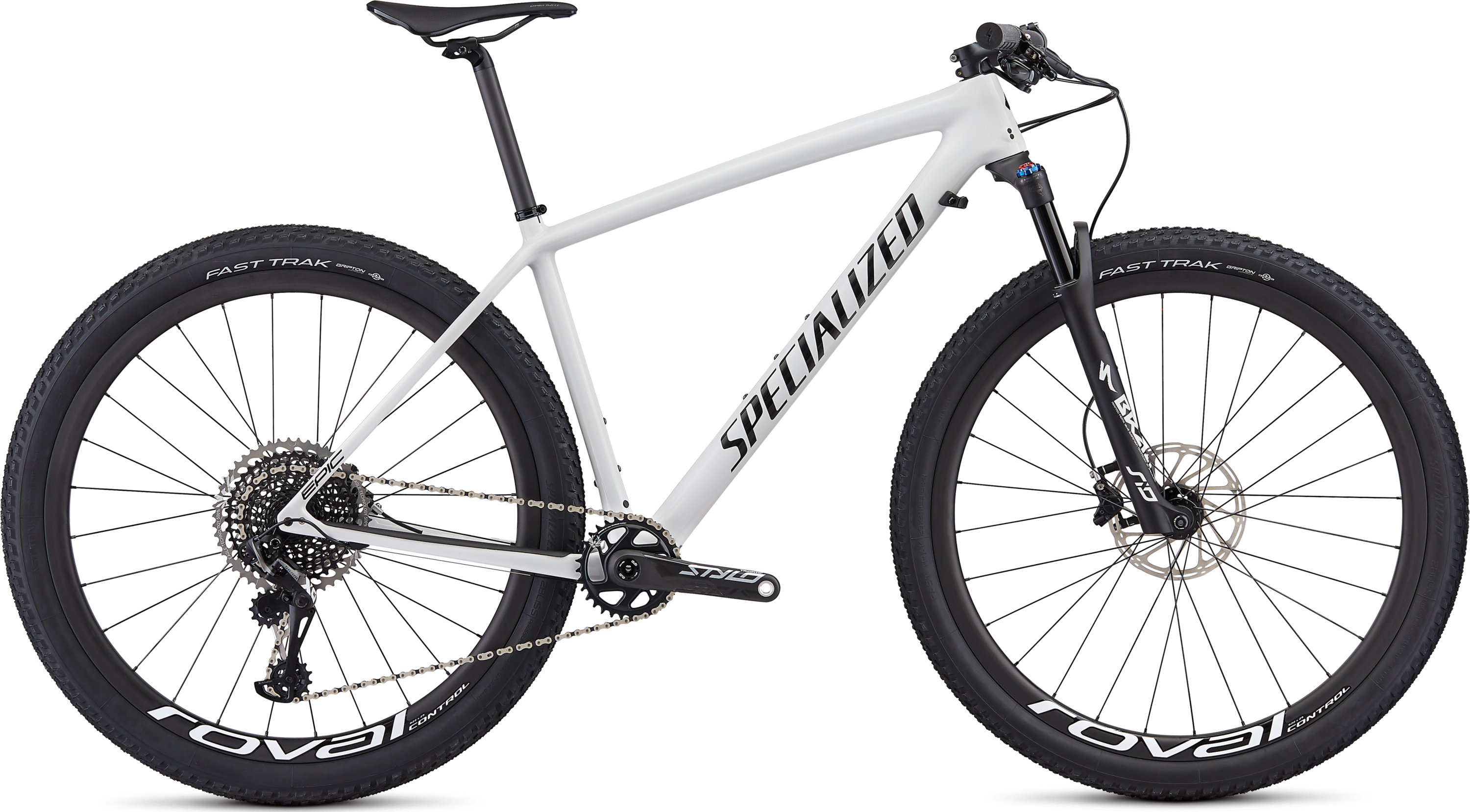Specialized Epic Hardtail Pro Gloss White/Tarmac Black L - Pulsschlag Bike+Sport