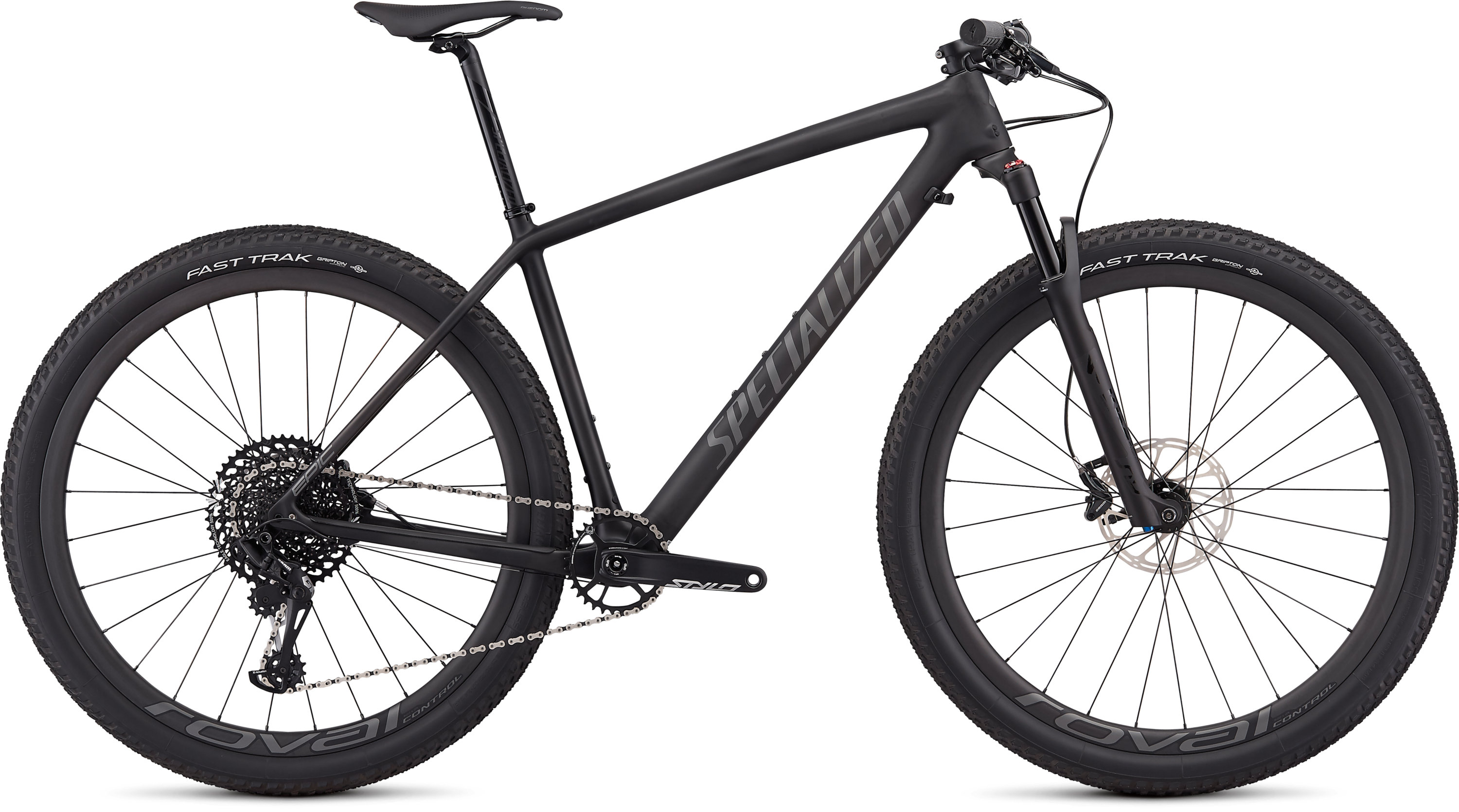 Specialized Epic Hardtail Expert Satin Carbon/Charcoal L - Pulsschlag Bike+Sport