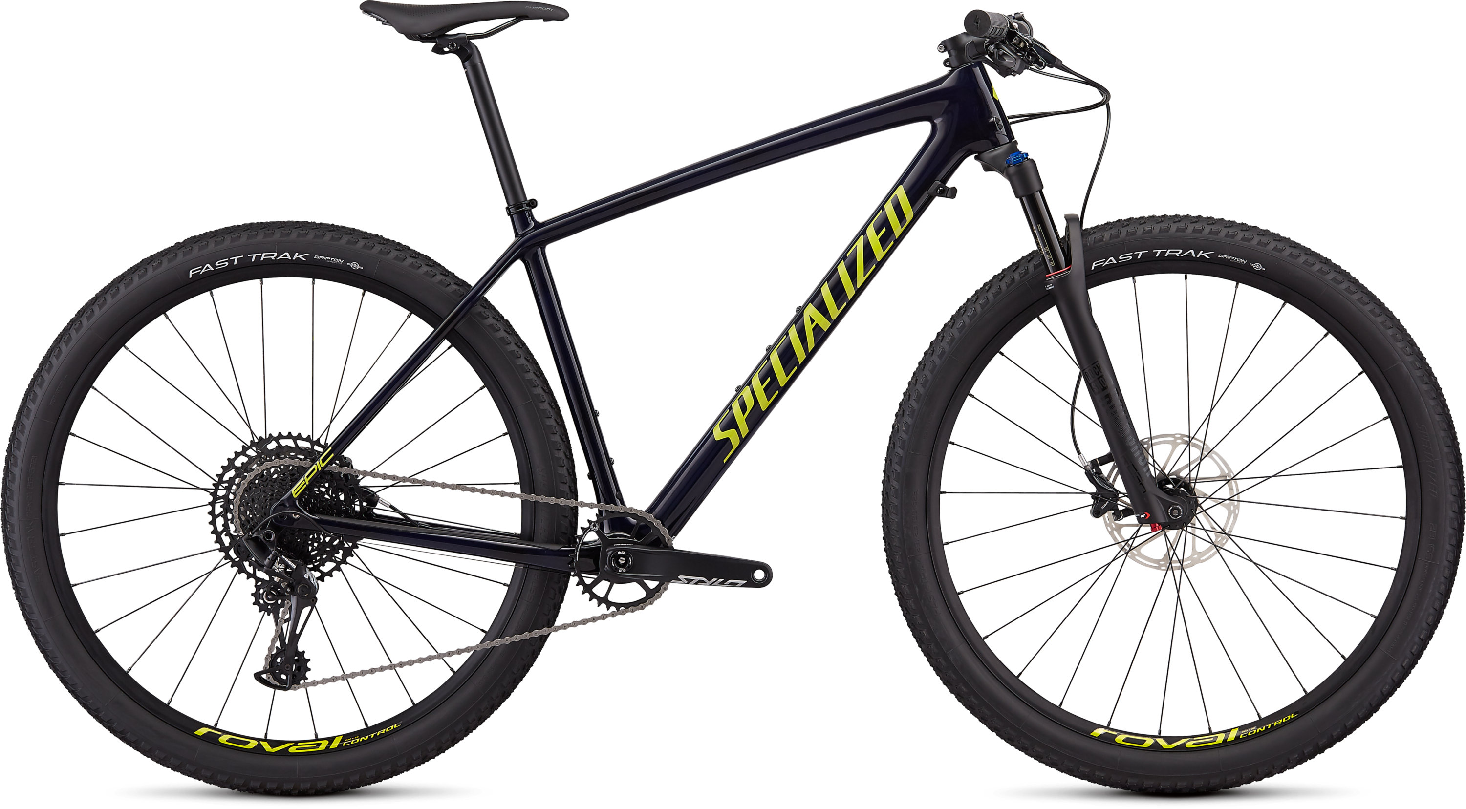 Specialized Men´s Epic Hardtail Comp Gloss Blue Tint Carbon/Ion S - Pulsschlag Bike+Sport