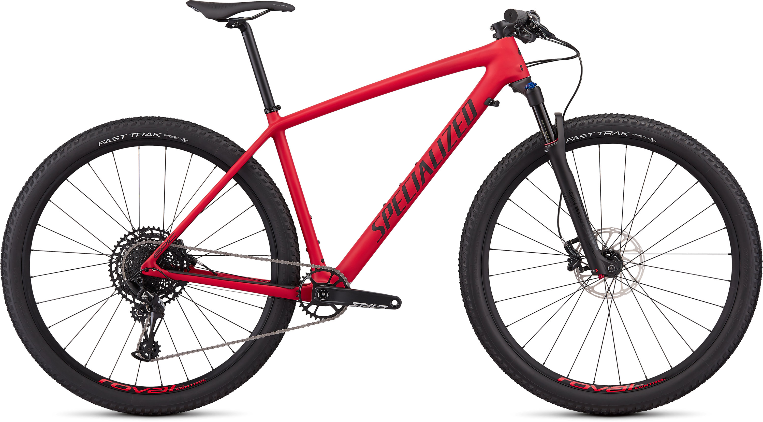 Specialized Men´s Epic Hardtail Comp Satin Flo Red/Black M - Pulsschlag Bike+Sport